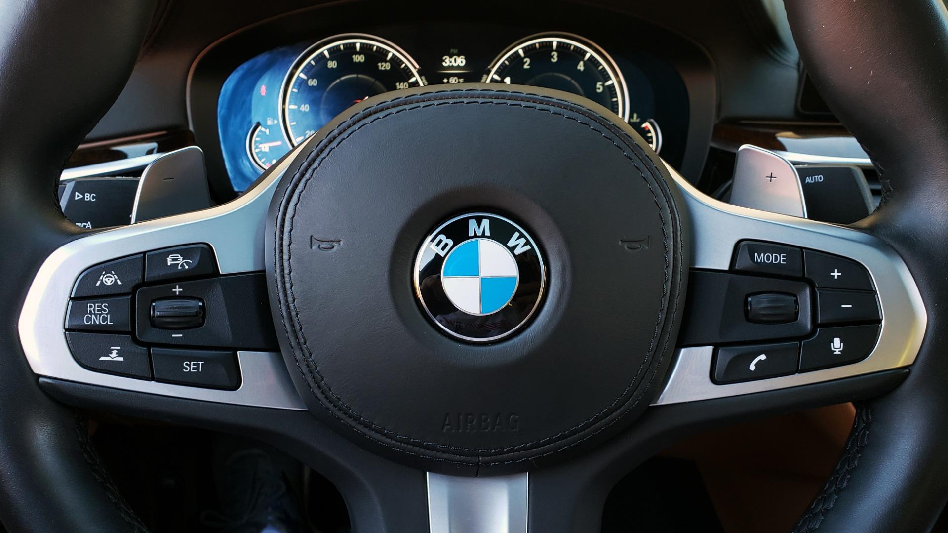 Used 2018 BMW 5 SERIES 540I M-SPORT / DRVR ASST / EXEC PKG / NAV / SUNROOF / HUD / REARVIEW for sale Sold at Formula Imports in Charlotte NC 28227 42