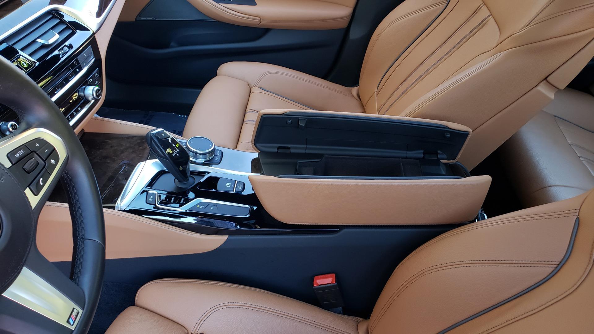 Used 2018 BMW 5 SERIES 540I M-SPORT / DRVR ASST / EXEC PKG / NAV / SUNROOF / HUD / REARVIEW for sale Sold at Formula Imports in Charlotte NC 28227 58