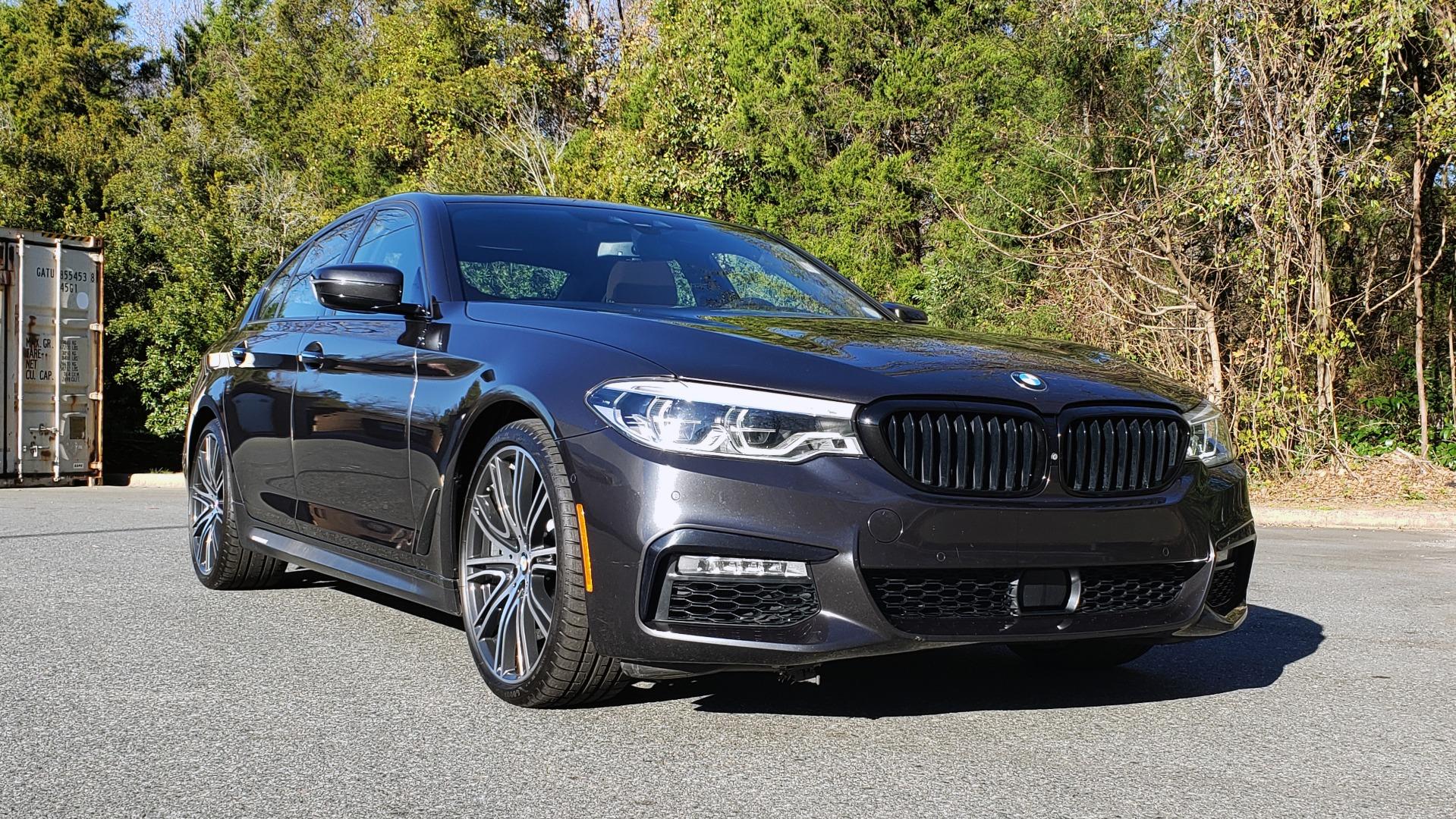 Used 2018 BMW 5 SERIES 540I M-SPORT / DRVR ASST / EXEC PKG / NAV / SUNROOF / HUD / REARVIEW for sale Sold at Formula Imports in Charlotte NC 28227 6