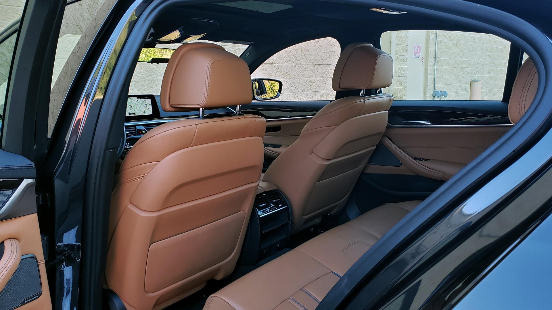 Used 2018 BMW 5 SERIES 540I M-SPORT / DRVR ASST / EXEC PKG / NAV / SUNROOF / HUD / REARVIEW for sale Sold at Formula Imports in Charlotte NC 28227 63