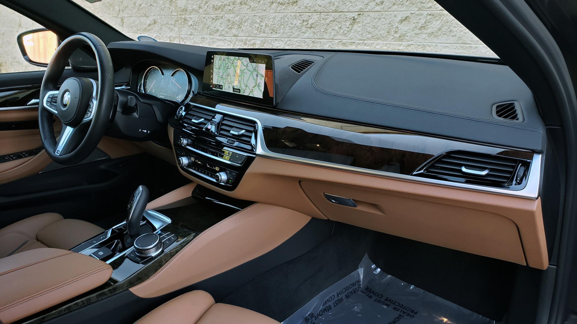 Used 2018 BMW 5 SERIES 540I M-SPORT / DRVR ASST / EXEC PKG / NAV / SUNROOF / HUD / REARVIEW for sale Sold at Formula Imports in Charlotte NC 28227 68
