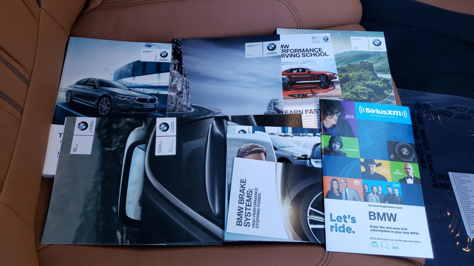 Used 2018 BMW 5 SERIES 540I M-SPORT / DRVR ASST / EXEC PKG / NAV / SUNROOF / HUD / REARVIEW for sale Sold at Formula Imports in Charlotte NC 28227 87