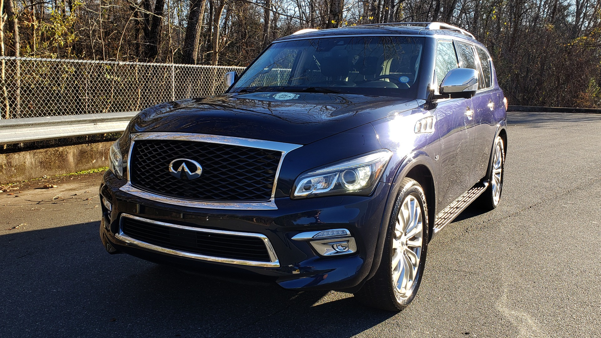 Used 2017 INFINITI QX80 4WD / NAV / SUNROOF / 3-ROW / THEATER PKG / REARVIEW for sale Sold at Formula Imports in Charlotte NC 28227 2