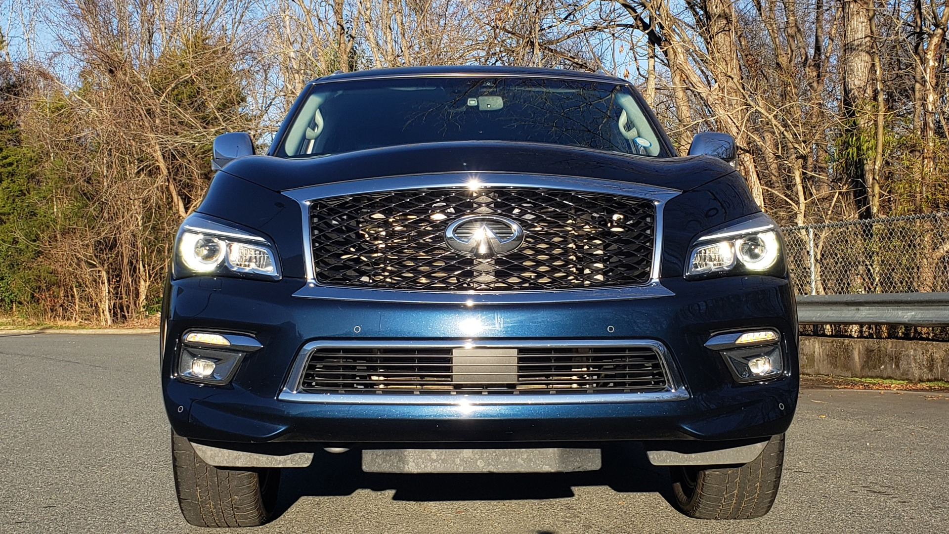 Used 2017 INFINITI QX80 4WD / NAV / SUNROOF / 3-ROW / THEATER PKG / REARVIEW for sale Sold at Formula Imports in Charlotte NC 28227 22