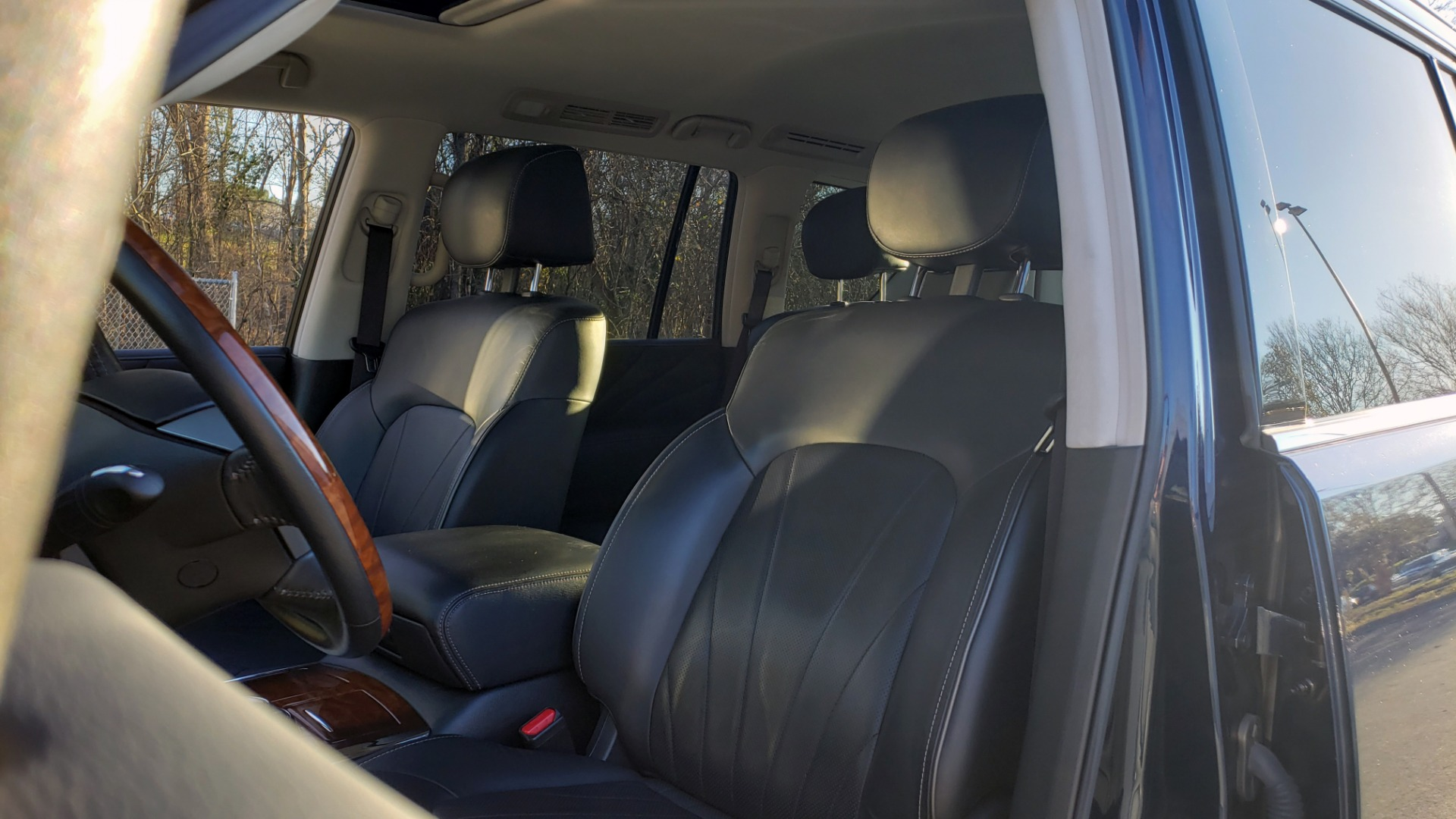 Used 2017 INFINITI QX80 4WD / NAV / SUNROOF / 3-ROW / THEATER PKG / REARVIEW for sale Sold at Formula Imports in Charlotte NC 28227 36
