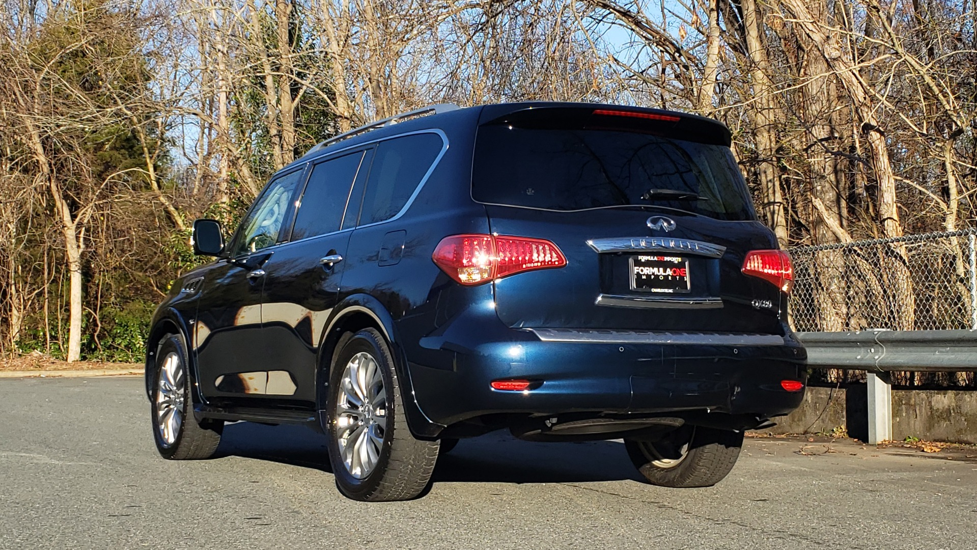Used 2017 INFINITI QX80 4WD / NAV / SUNROOF / 3-ROW / THEATER PKG / REARVIEW for sale Sold at Formula Imports in Charlotte NC 28227 4