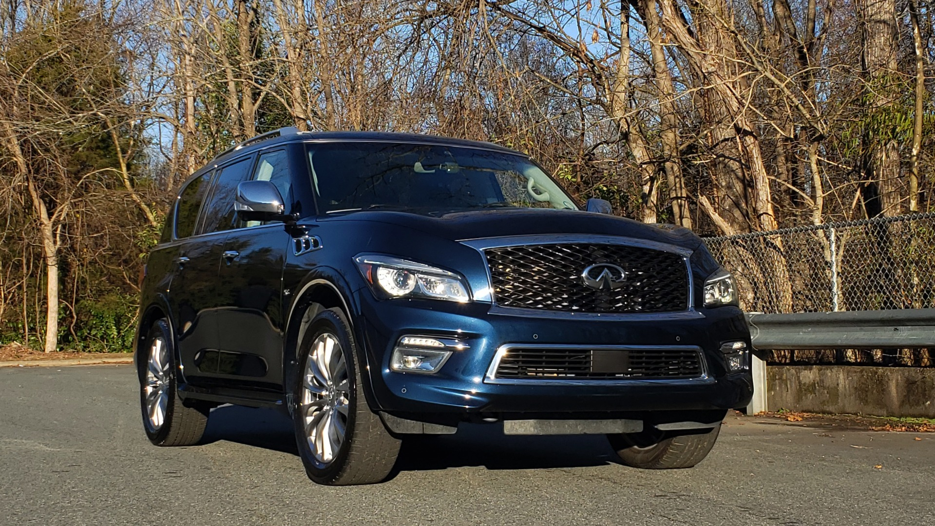 Used 2017 INFINITI QX80 4WD / NAV / SUNROOF / 3-ROW / THEATER PKG / REARVIEW for sale Sold at Formula Imports in Charlotte NC 28227 5