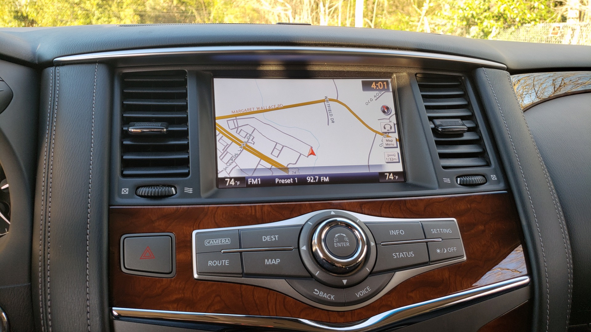 Used 2017 INFINITI QX80 4WD / NAV / SUNROOF / 3-ROW / THEATER PKG / REARVIEW for sale Sold at Formula Imports in Charlotte NC 28227 50