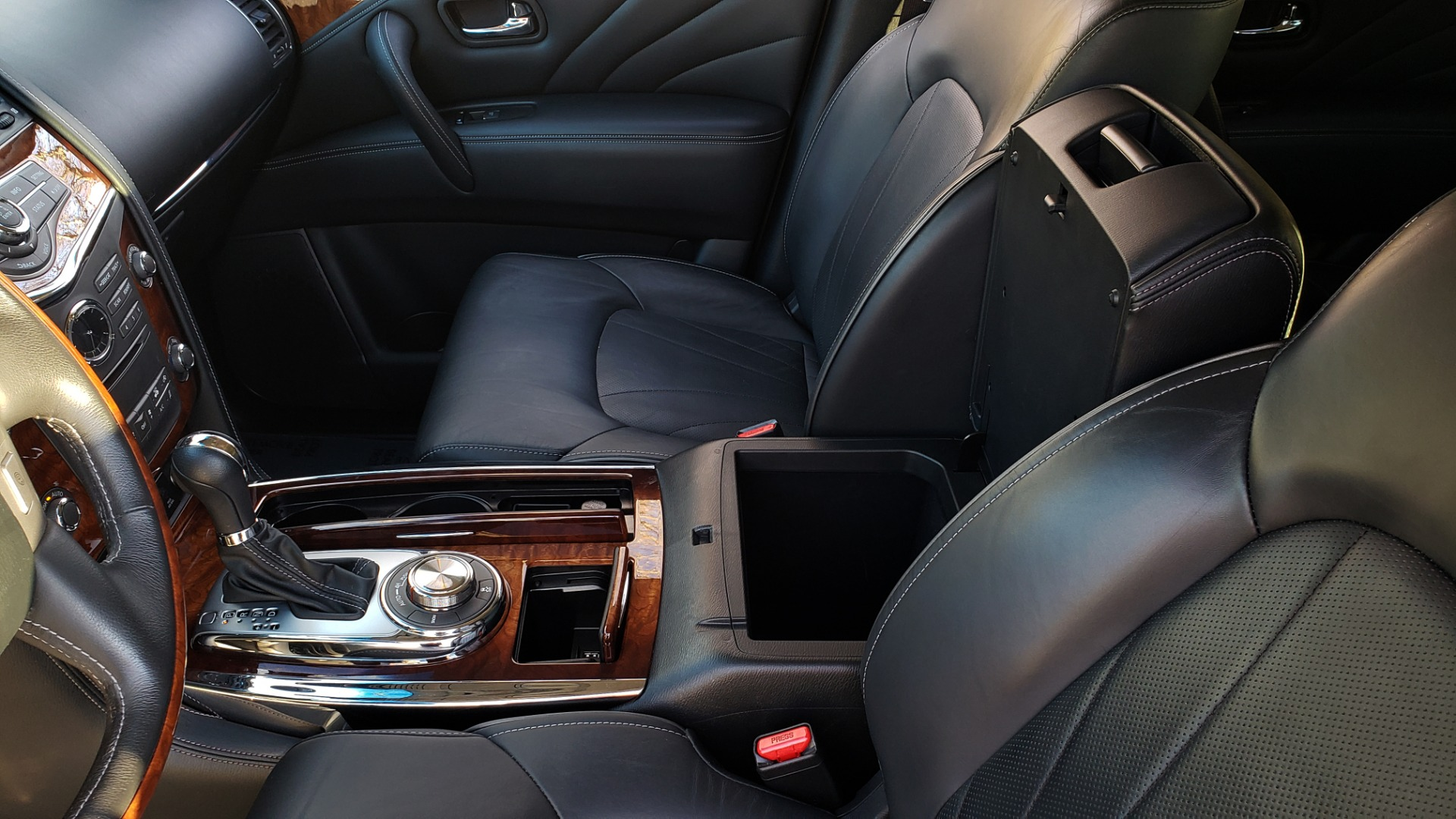 Used 2017 INFINITI QX80 4WD / NAV / SUNROOF / 3-ROW / THEATER PKG / REARVIEW for sale Sold at Formula Imports in Charlotte NC 28227 59