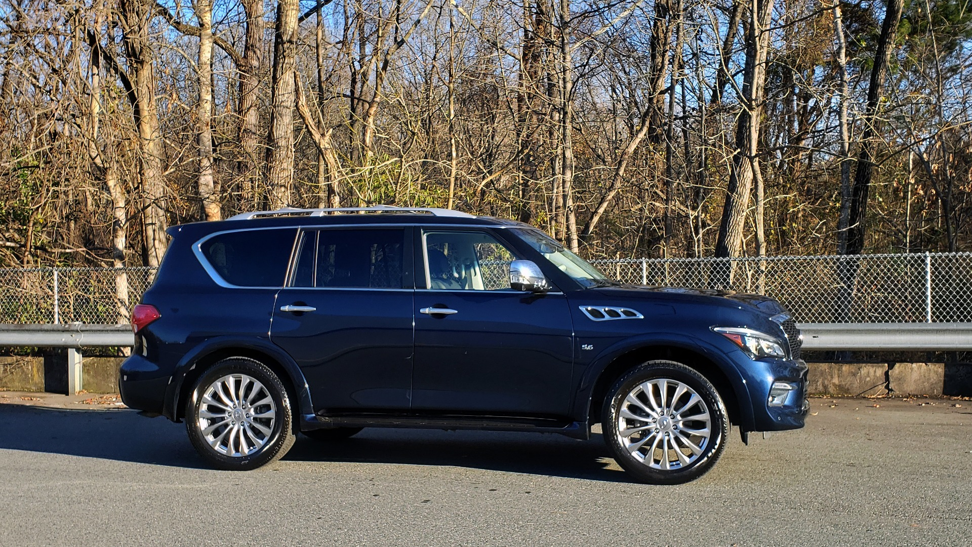 Used 2017 INFINITI QX80 4WD / NAV / SUNROOF / 3-ROW / THEATER PKG / REARVIEW for sale Sold at Formula Imports in Charlotte NC 28227 6