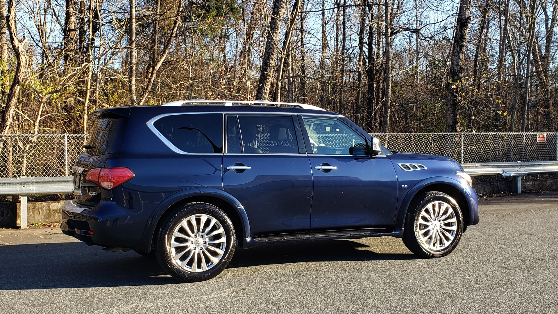 Used 2017 INFINITI QX80 4WD / NAV / SUNROOF / 3-ROW / THEATER PKG / REARVIEW for sale Sold at Formula Imports in Charlotte NC 28227 7