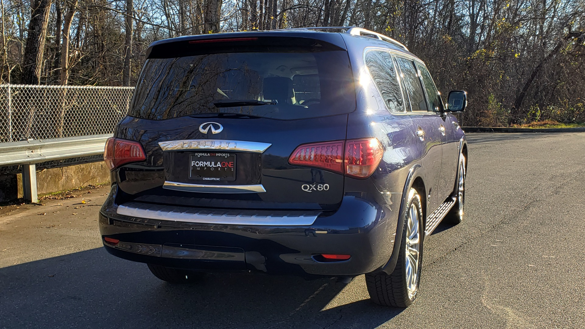 Used 2017 INFINITI QX80 4WD / NAV / SUNROOF / 3-ROW / THEATER PKG / REARVIEW for sale Sold at Formula Imports in Charlotte NC 28227 8