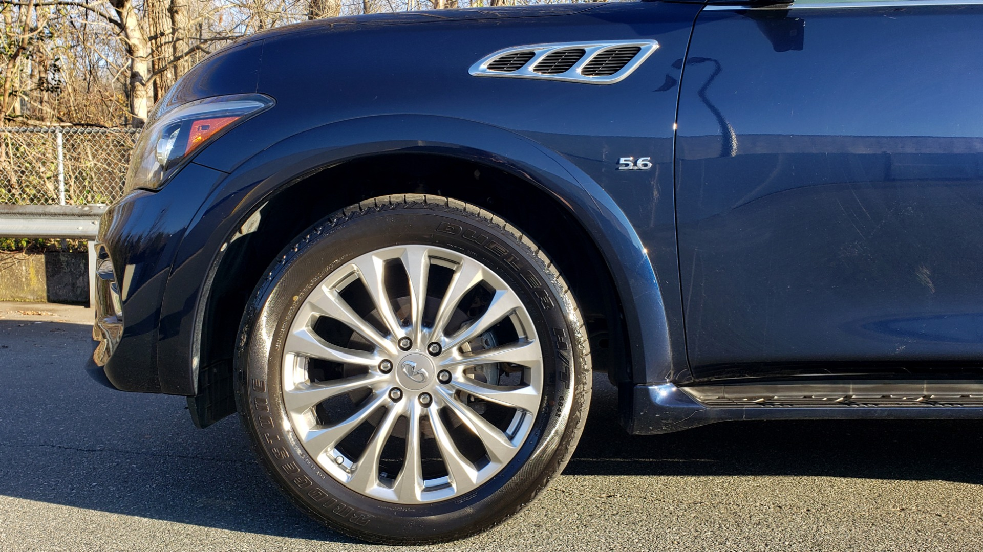 Used 2017 INFINITI QX80 4WD / NAV / SUNROOF / 3-ROW / THEATER PKG / REARVIEW for sale $46,495 at Formula Imports in Charlotte NC 28227 90