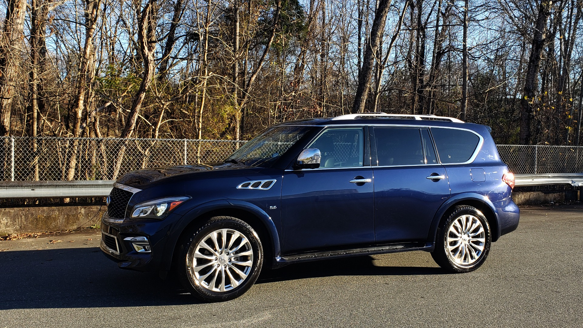 Used 2017 INFINITI QX80 4WD / NAV / SUNROOF / 3-ROW / THEATER PKG / REARVIEW for sale Sold at Formula Imports in Charlotte NC 28227 1