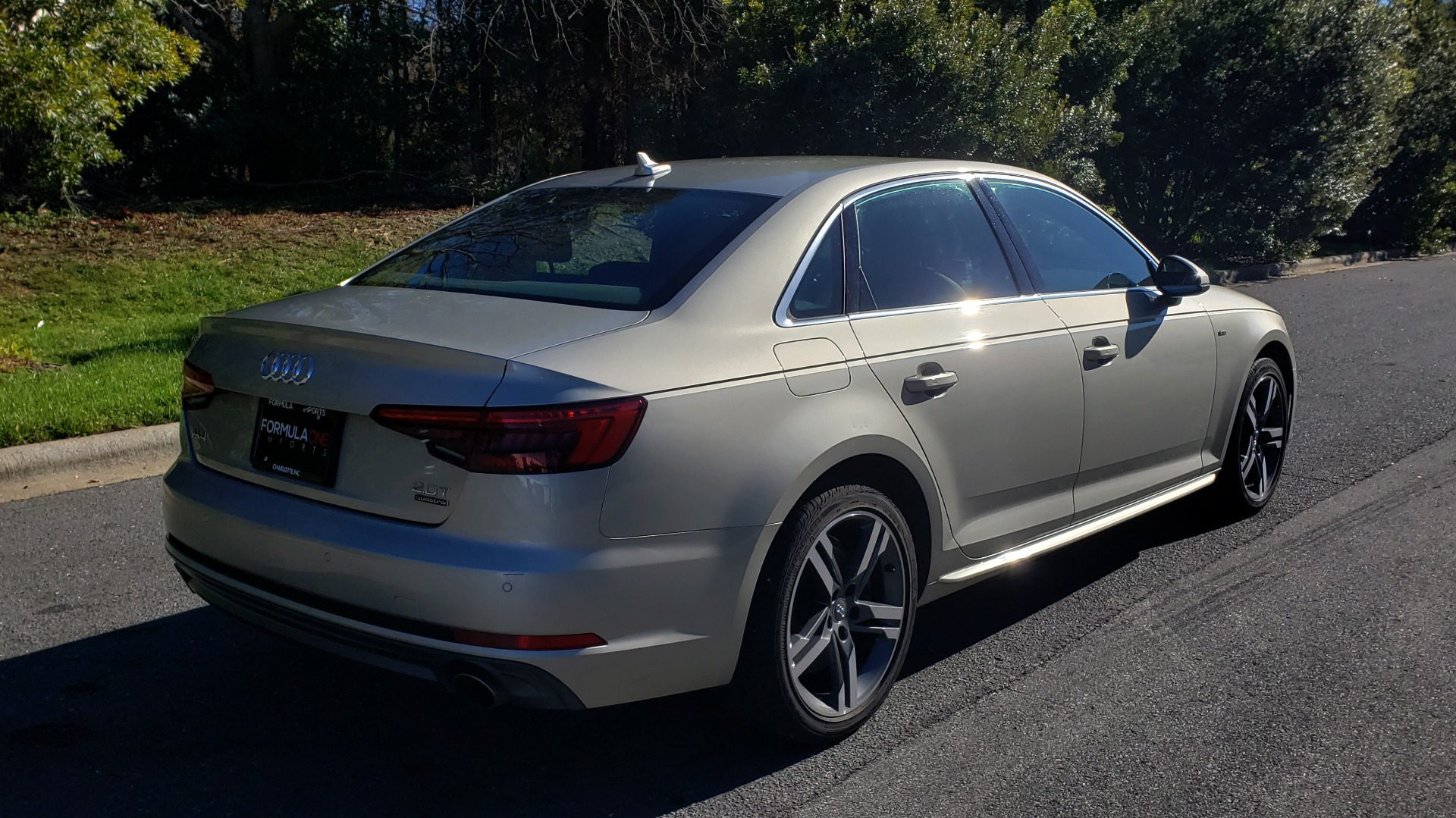 Used 2017 Audi A4 PREMIUM PLUS / TECH PKG / B&O SND / S-LINE / NAV / REARVIEW for sale $24,995 at Formula Imports in Charlotte NC 28227 5