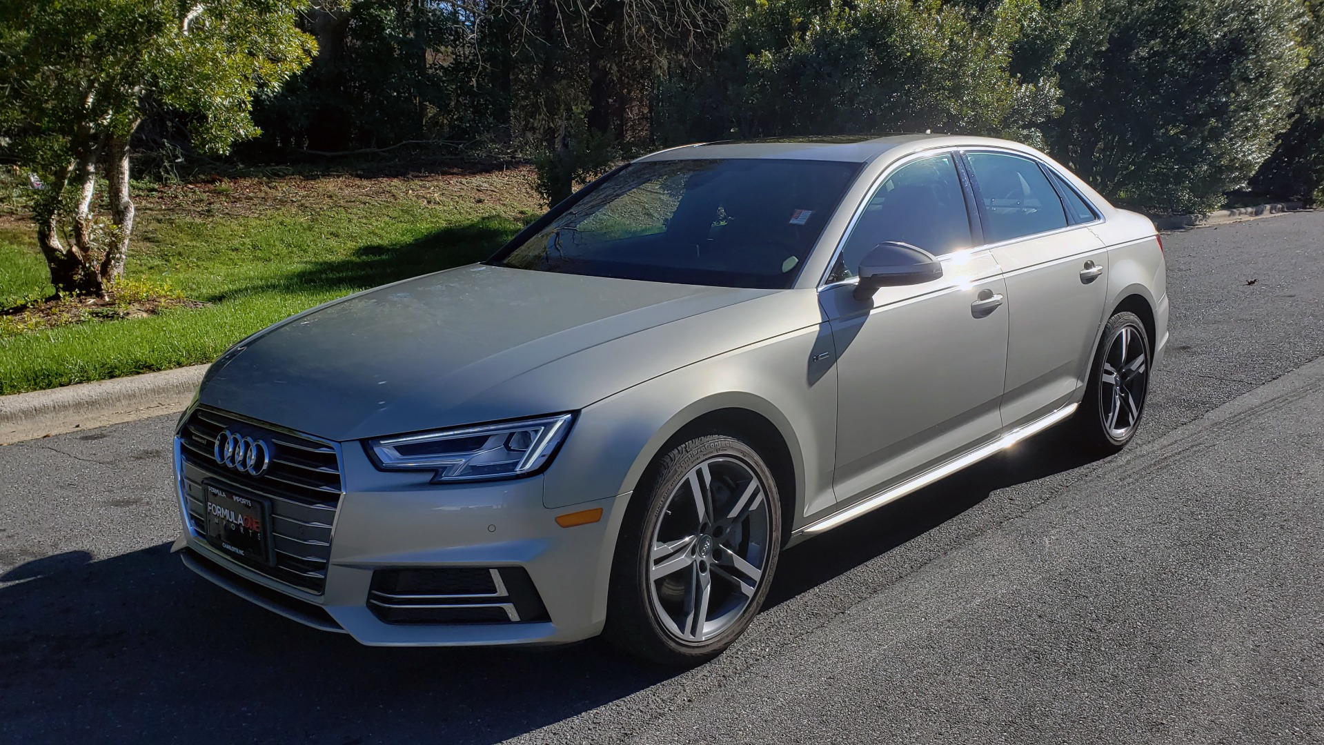 Used 2017 Audi A4 PREMIUM PLUS / TECH PKG / B&O SND / S-LINE / NAV / REARVIEW for sale $24,995 at Formula Imports in Charlotte NC 28227 1