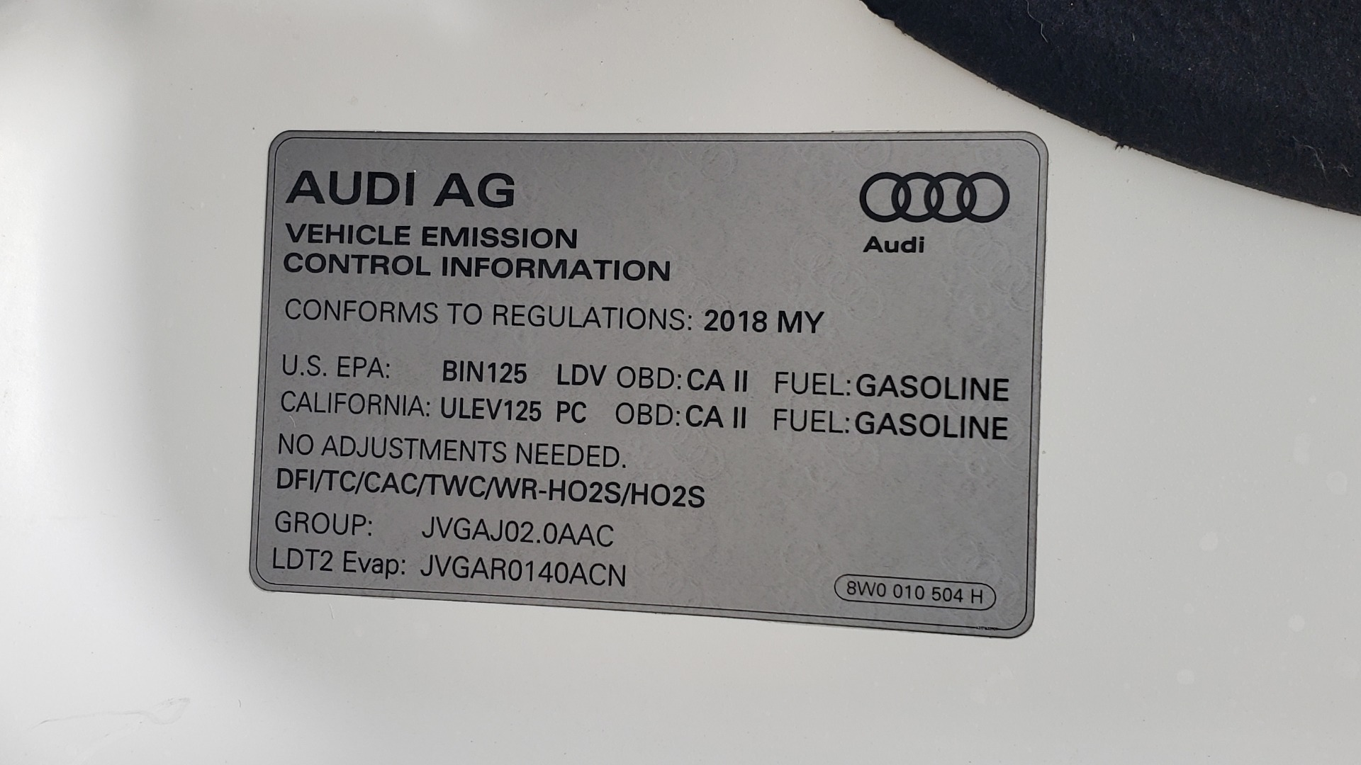Used 2018 Audi Q5 PREMIUM PLUS / NAV PKG / SUNROOF / CLD WTHR / REARVIEW for sale Sold at Formula Imports in Charlotte NC 28227 12