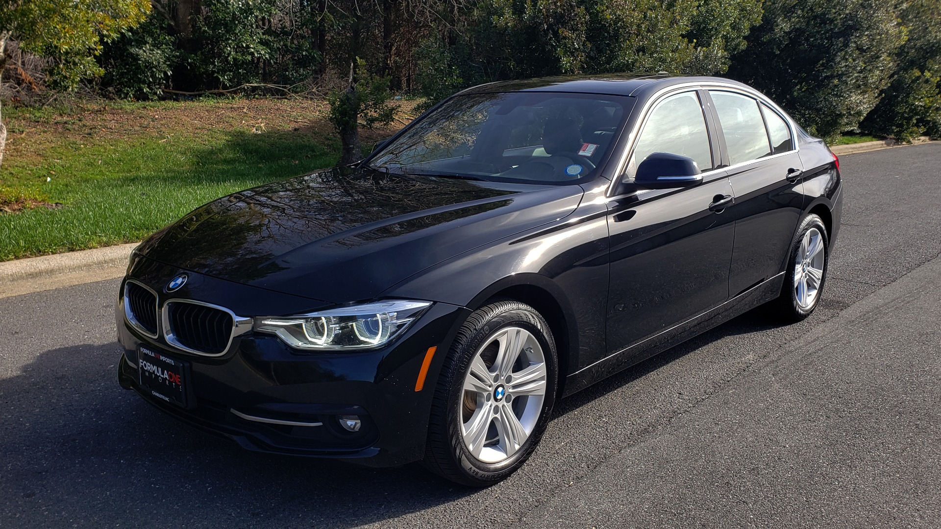Used 2018 BMW 3 SERIES 330I XDRIVE / CONV PKG / NAV / DRVR ASST / CLD WTHR / REARVIEW for sale $25,995 at Formula Imports in Charlotte NC 28227 1