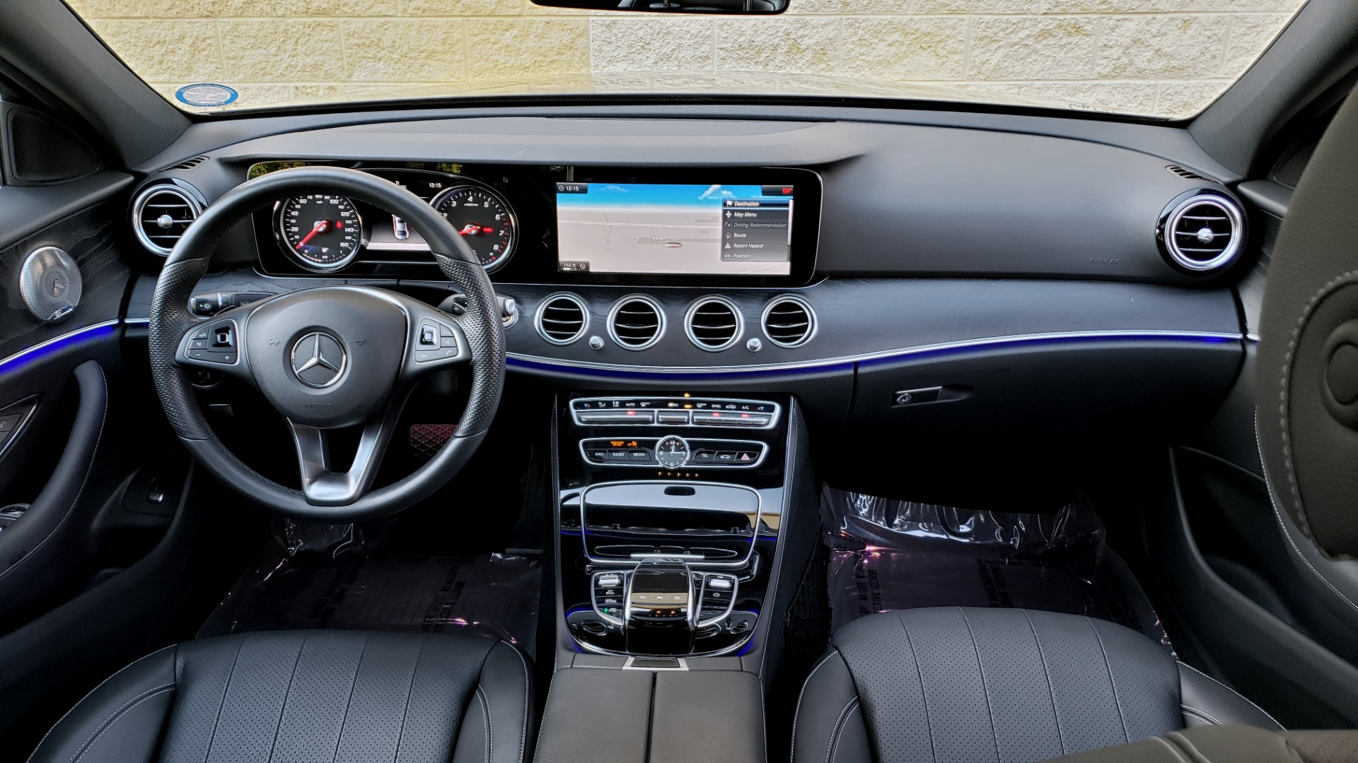 Used 2017 Mercedes-Benz E-CLASS E 300 PREMIUM / NAV / SUNROOF / BURMESTER / HTD STS / REARVIEW for sale $29,995 at Formula Imports in Charlotte NC 28227 78