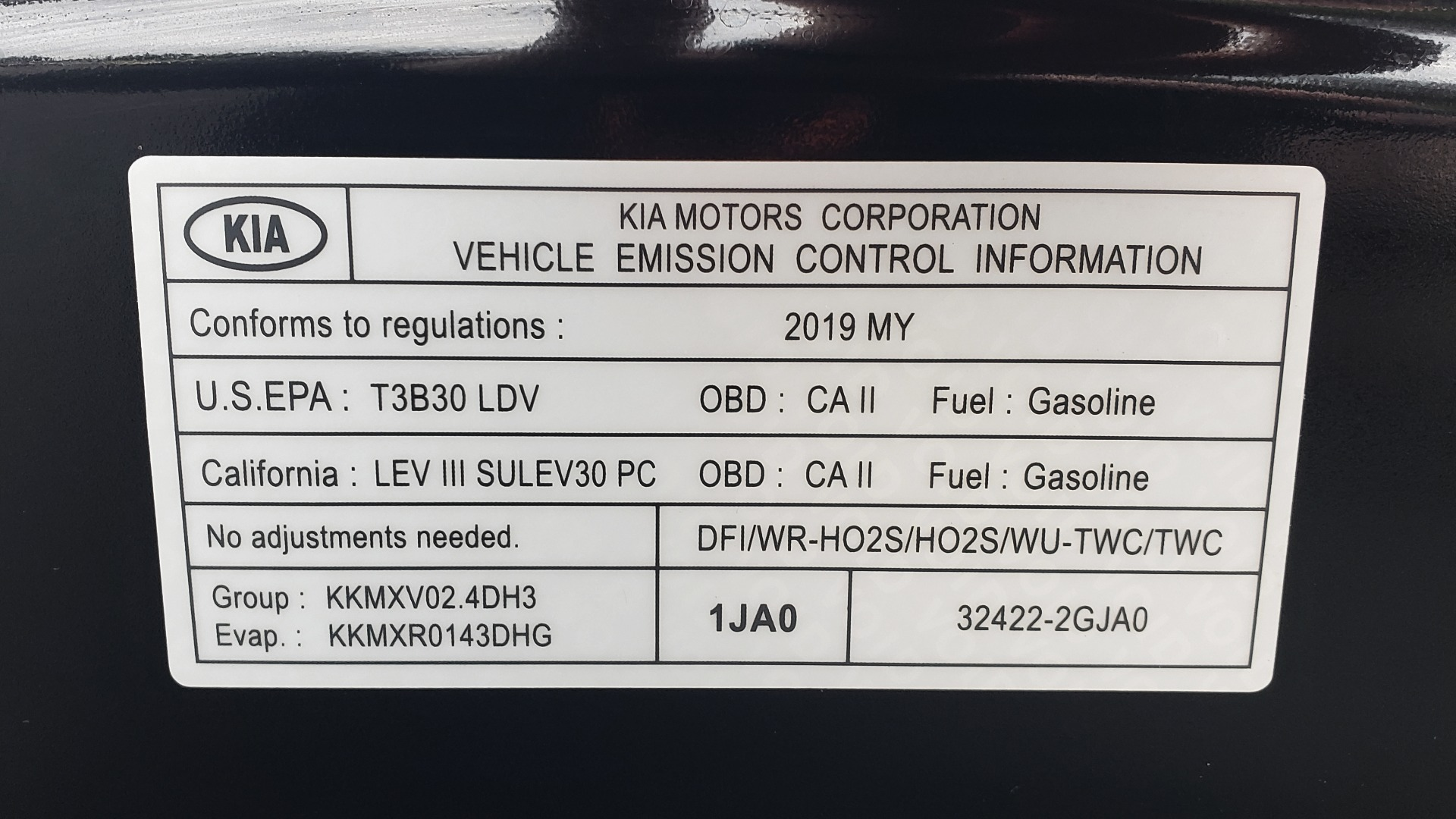 Used 2019 Kia OPTIMA LX AUTO / 2.4L 4-CYL / 6-SPD AUTO / REARVIEW / LOW MILES for sale $17,995 at Formula Imports in Charlotte NC 28227 12