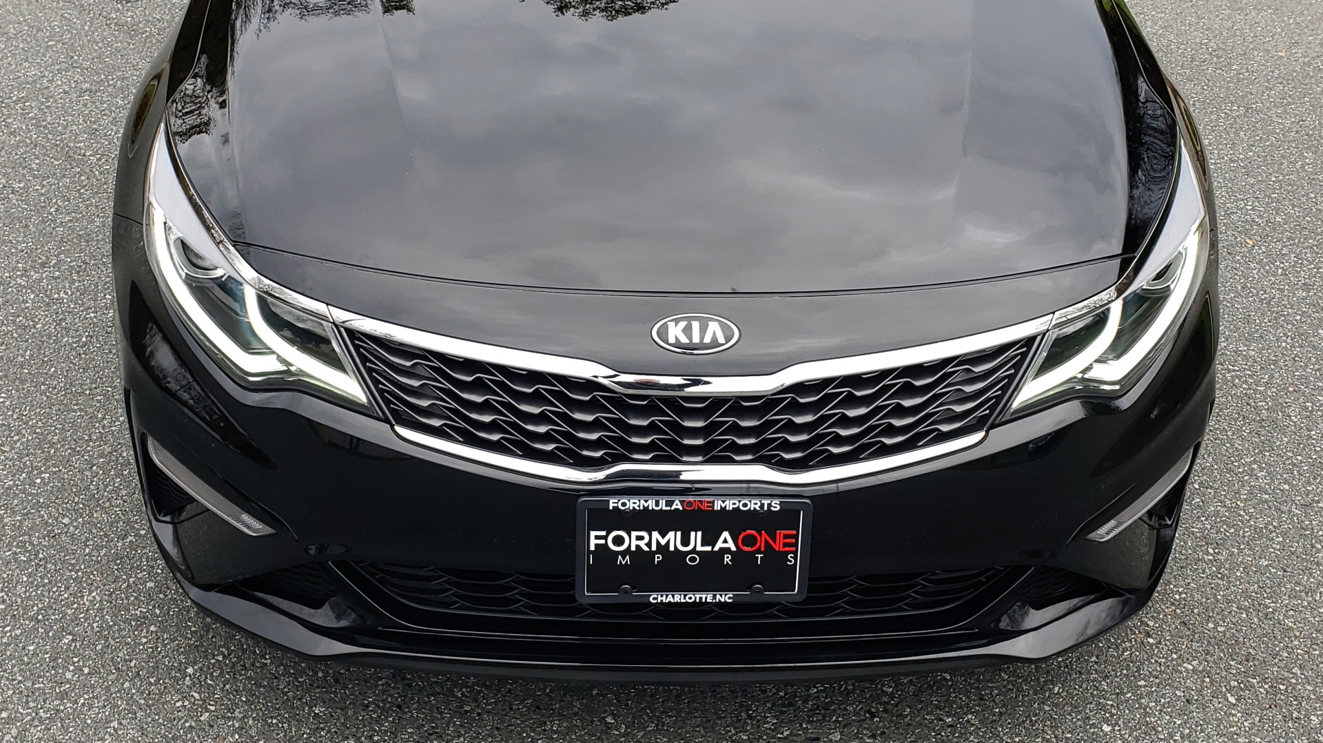 Used 2019 Kia OPTIMA LX AUTO / 2.4L 4-CYL / 6-SPD AUTO / REARVIEW / LOW MILES for sale $17,995 at Formula Imports in Charlotte NC 28227 19