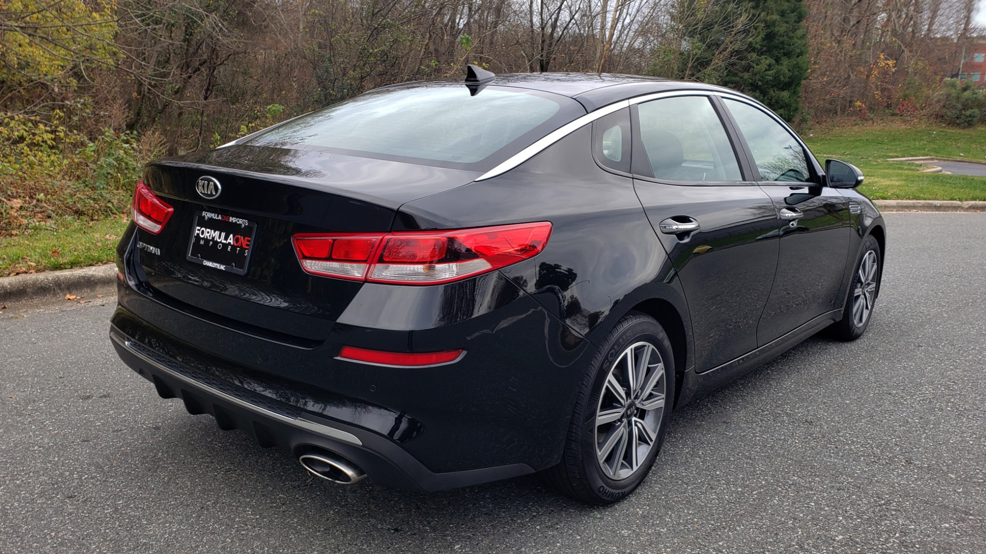 Used 2019 Kia OPTIMA LX AUTO / 2.4L 4-CYL / 6-SPD AUTO / REARVIEW / LOW MILES for sale $17,995 at Formula Imports in Charlotte NC 28227 6