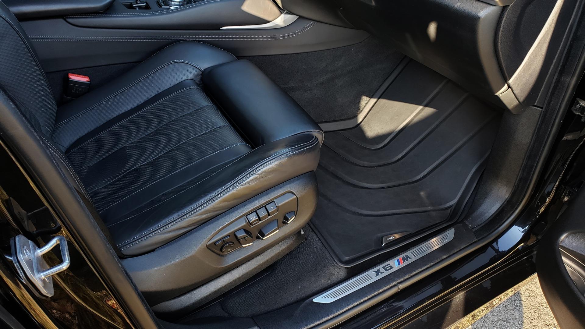 Used 2016 BMW X6 M EXEC PKG / DRVR ASST / NAV / SUNROOF / BLIND SPOT / REARVIEW for sale Sold at Formula Imports in Charlotte NC 28227 20
