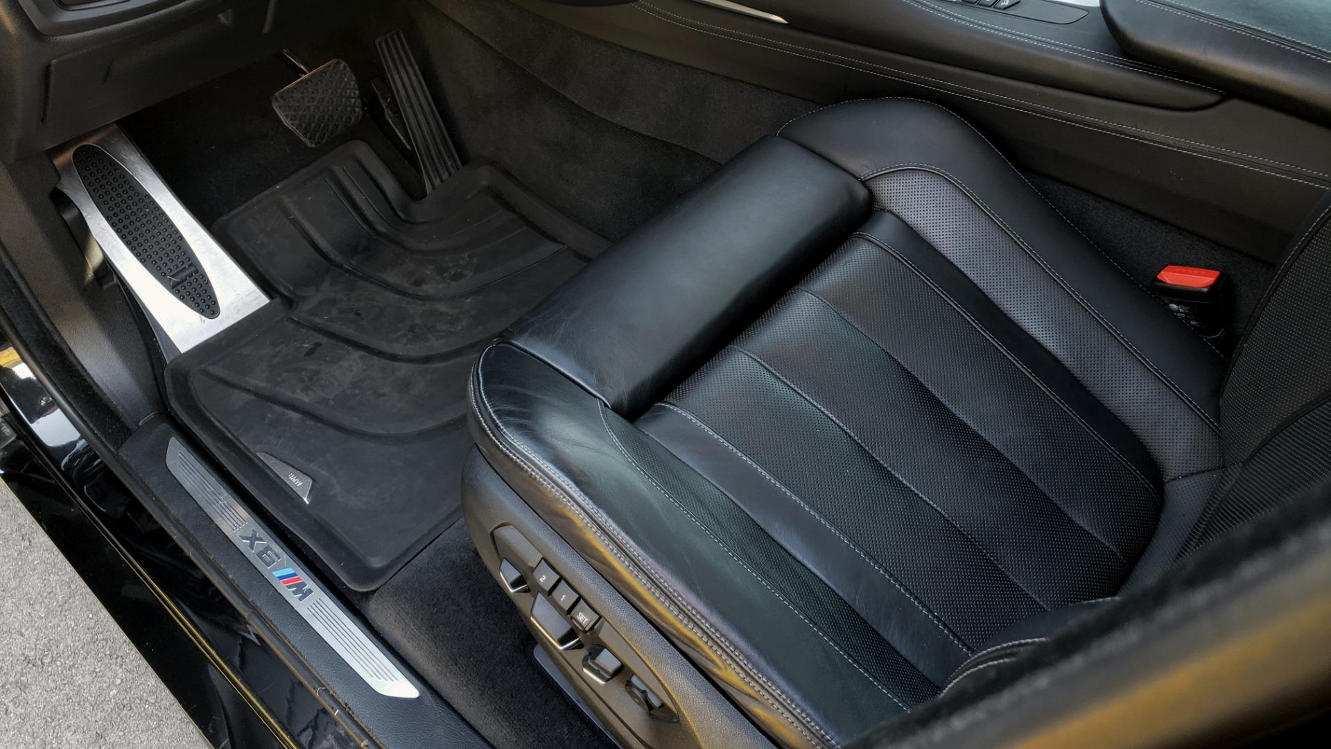 Used 2016 BMW X6 M EXEC PKG / DRVR ASST / NAV / SUNROOF / BLIND SPOT / REARVIEW for sale Sold at Formula Imports in Charlotte NC 28227 33