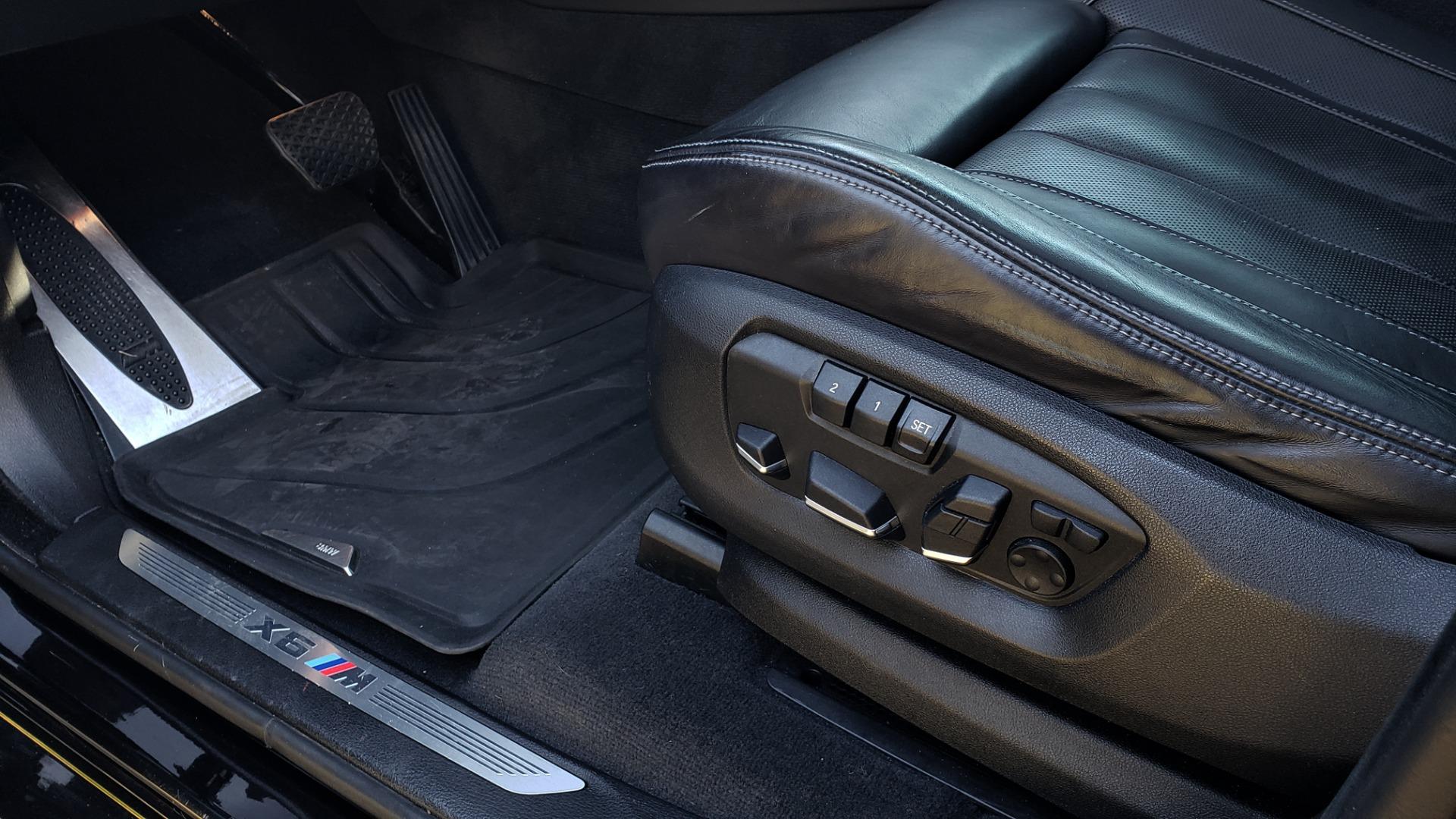 Used 2016 BMW X6 M EXEC PKG / DRVR ASST / NAV / SUNROOF / BLIND SPOT / REARVIEW for sale Sold at Formula Imports in Charlotte NC 28227 34