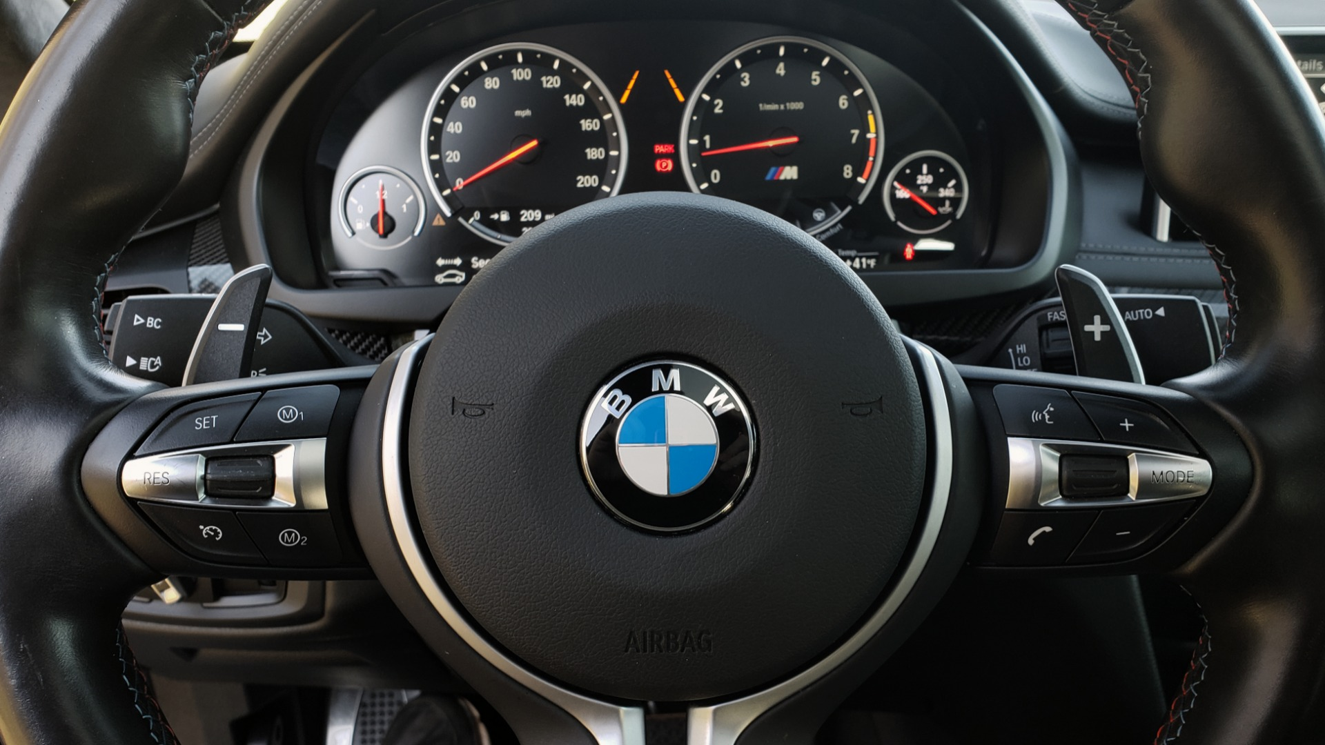 Used 2016 BMW X6 M EXEC PKG / DRVR ASST / NAV / SUNROOF / BLIND SPOT / REARVIEW for sale Sold at Formula Imports in Charlotte NC 28227 41