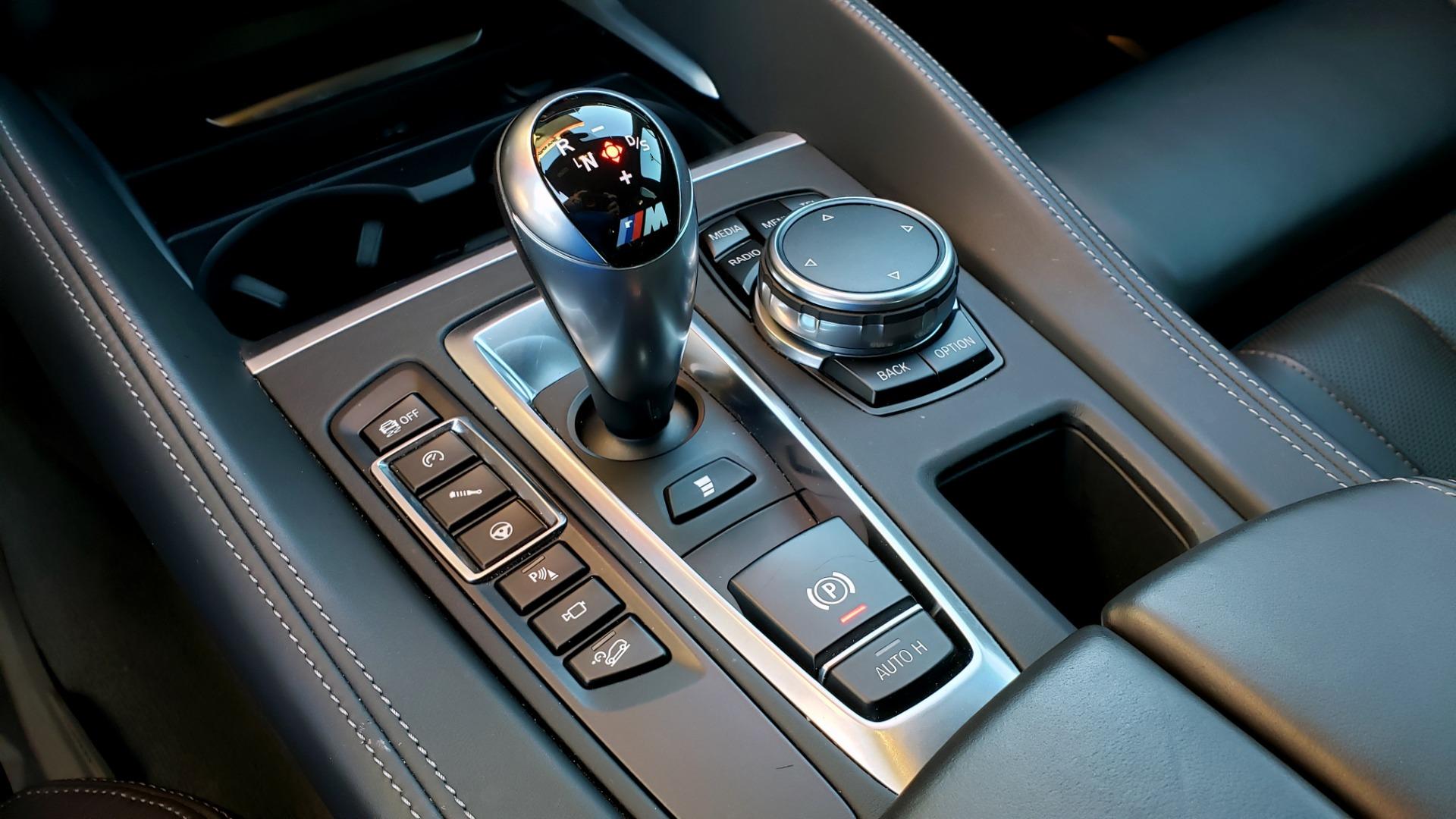 Used 2016 BMW X6 M EXEC PKG / DRVR ASST / NAV / SUNROOF / BLIND SPOT / REARVIEW for sale Sold at Formula Imports in Charlotte NC 28227 52