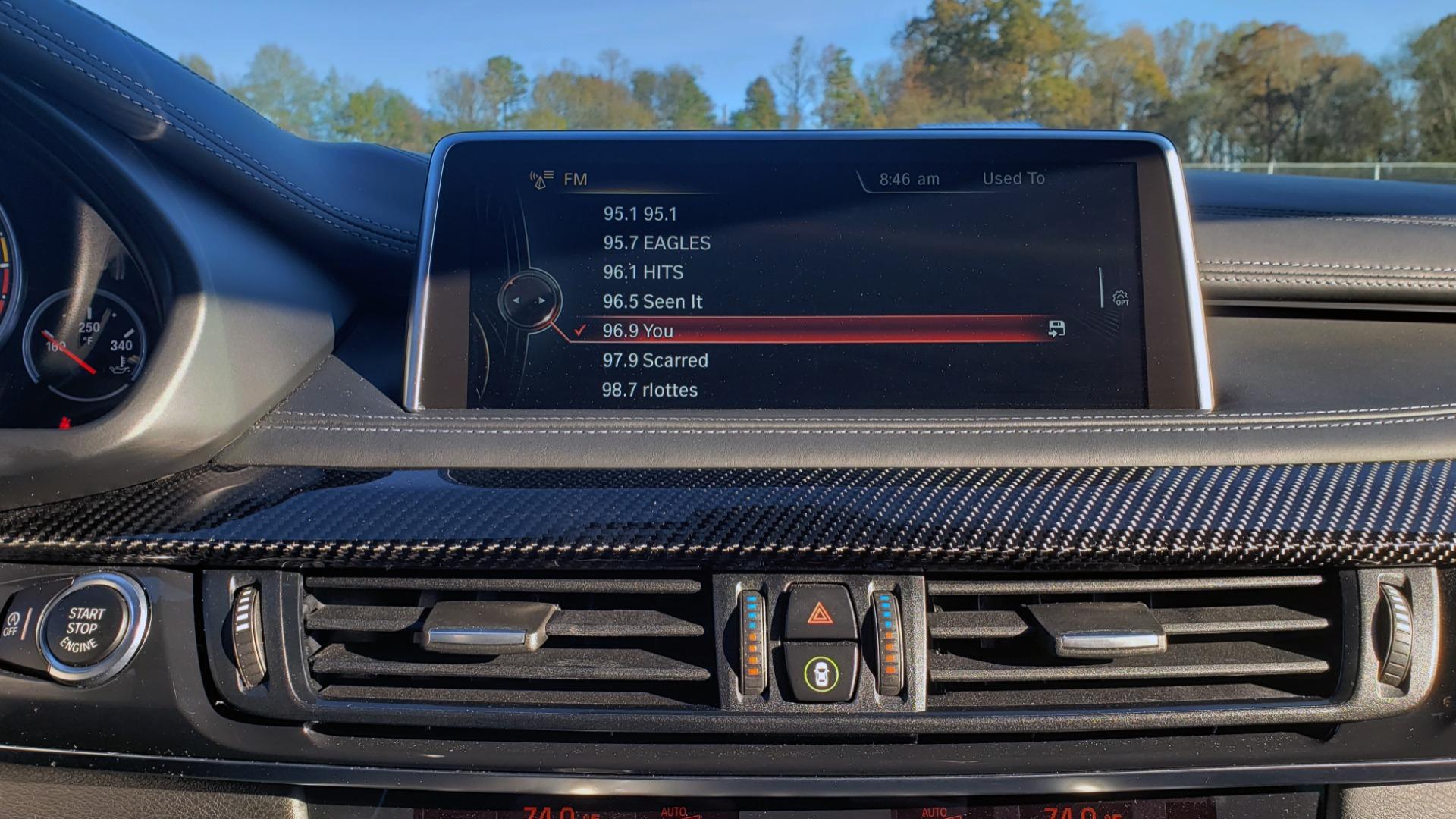 Used 2016 BMW X6 M EXEC PKG / DRVR ASST / NAV / SUNROOF / BLIND SPOT / REARVIEW for sale Sold at Formula Imports in Charlotte NC 28227 55