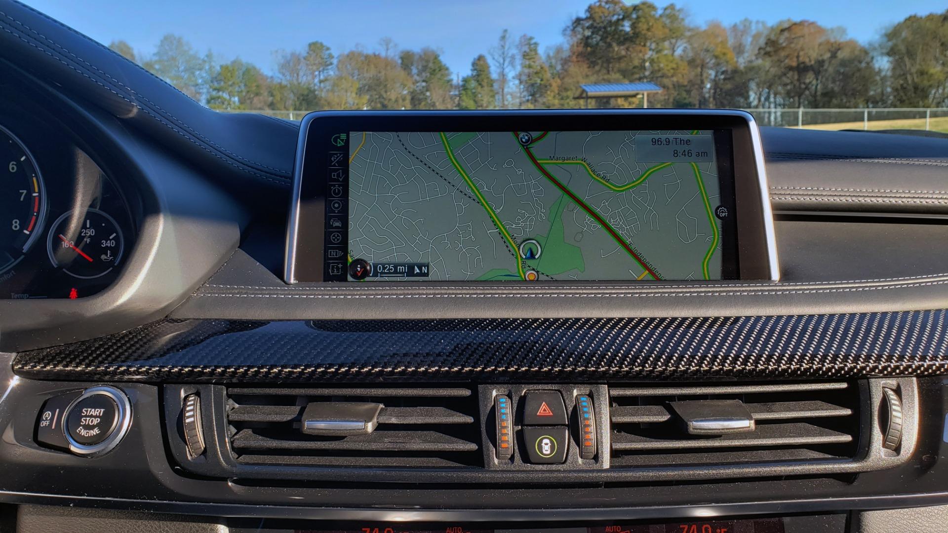 Used 2016 BMW X6 M EXEC PKG / DRVR ASST / NAV / SUNROOF / BLIND SPOT / REARVIEW for sale Sold at Formula Imports in Charlotte NC 28227 56
