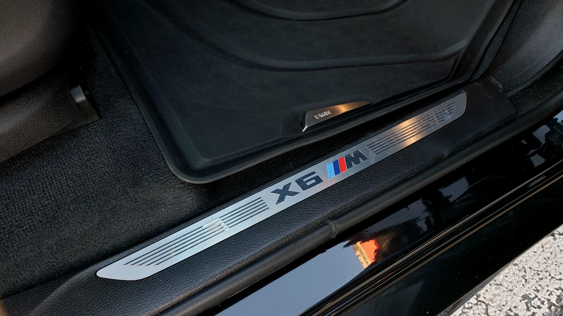 Used 2016 BMW X6 M EXEC PKG / DRVR ASST / NAV / SUNROOF / BLIND SPOT / REARVIEW for sale Sold at Formula Imports in Charlotte NC 28227 70