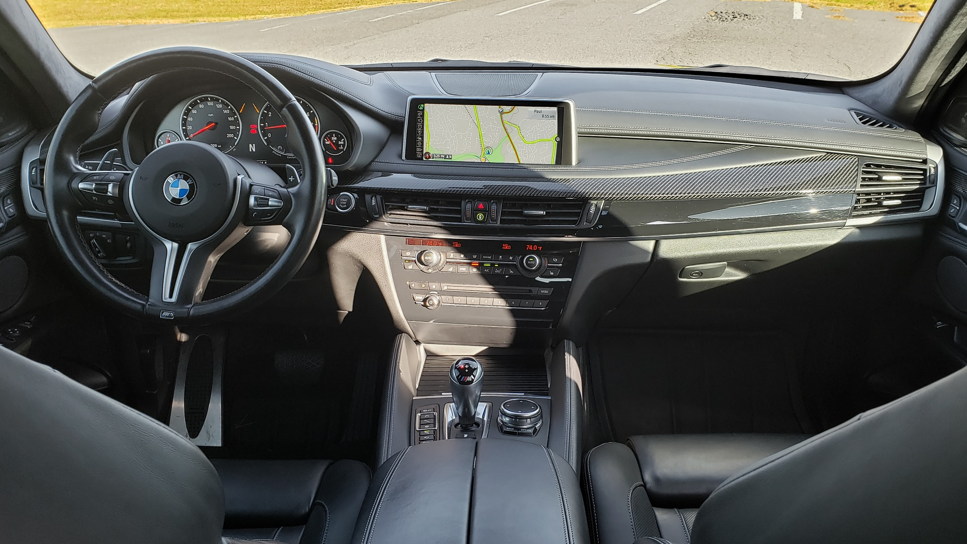 Used 2016 BMW X6 M EXEC PKG / DRVR ASST / NAV / SUNROOF / BLIND SPOT / REARVIEW for sale Sold at Formula Imports in Charlotte NC 28227 83