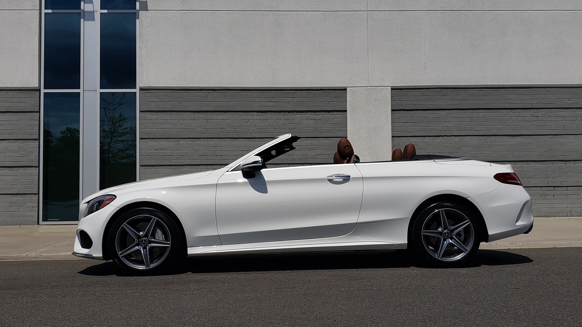 Used 2018 Mercedes-Benz C-CLASS C 300 CABRIOLET PREMIUM / AWD / BURMESTER SND / APPLE / REARVIEW for sale $44,995 at Formula Imports in Charlotte NC 28227 10