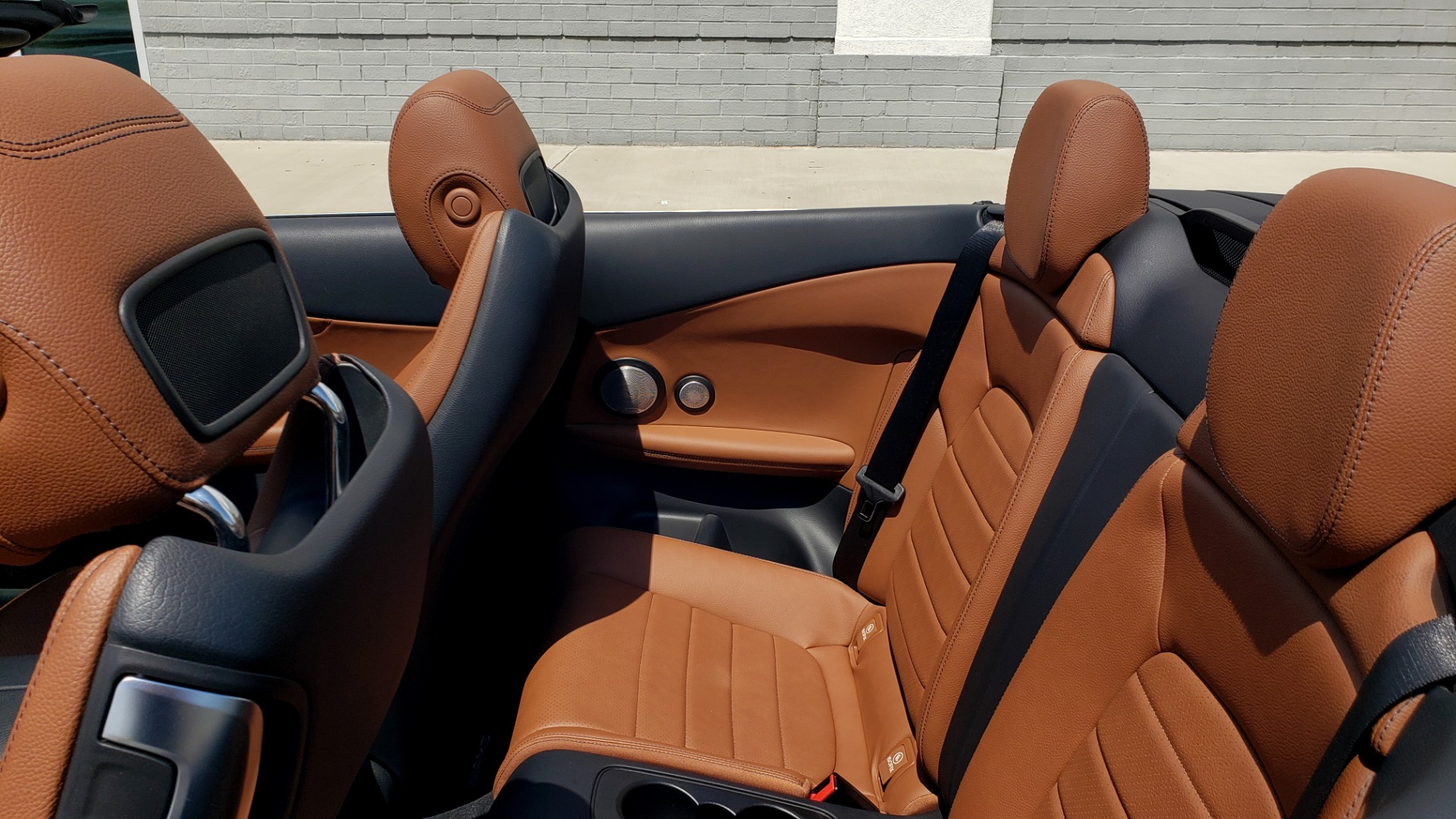 Used 2018 Mercedes-Benz C-CLASS C 300 CABRIOLET PREMIUM / AWD / BURMESTER SND / APPLE / REARVIEW for sale $44,995 at Formula Imports in Charlotte NC 28227 14