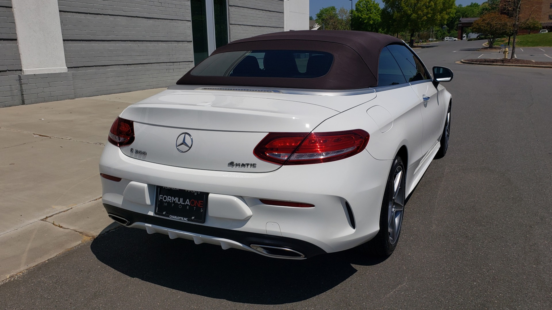 Used 2018 Mercedes-Benz C-CLASS C 300 CABRIOLET PREMIUM / AWD / BURMESTER SND / APPLE / REARVIEW for sale $44,995 at Formula Imports in Charlotte NC 28227 16