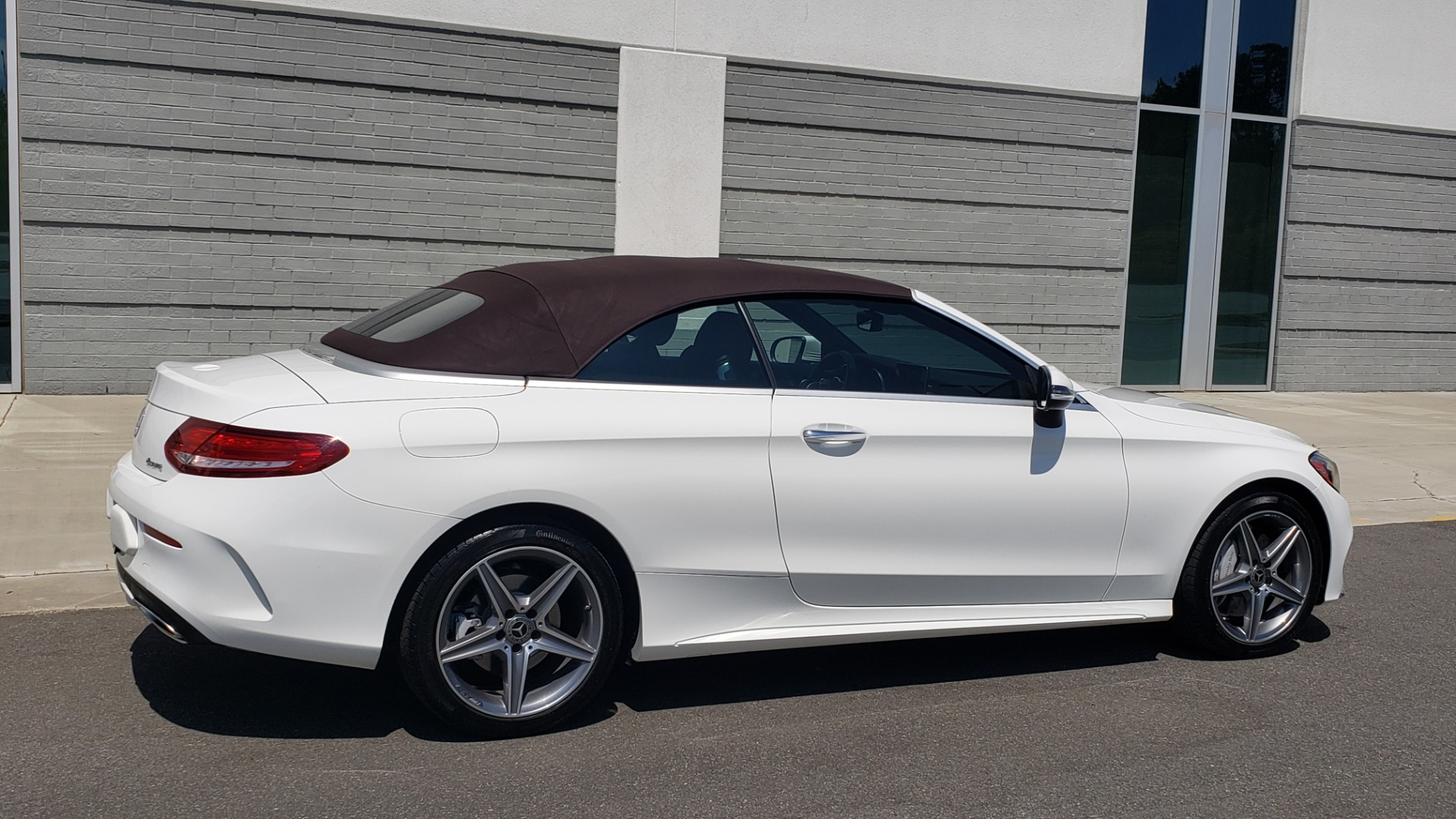 Used 2018 Mercedes-Benz C-CLASS C 300 CABRIOLET PREMIUM / AWD / BURMESTER SND / APPLE / REARVIEW for sale $44,995 at Formula Imports in Charlotte NC 28227 17