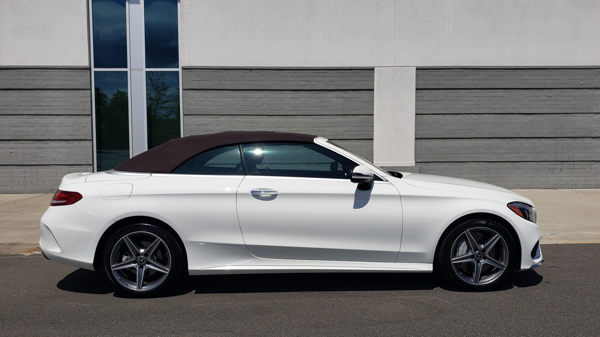 Used 2018 Mercedes-Benz C-CLASS C 300 CABRIOLET PREMIUM / AWD / BURMESTER SND / APPLE / REARVIEW for sale $44,995 at Formula Imports in Charlotte NC 28227 18