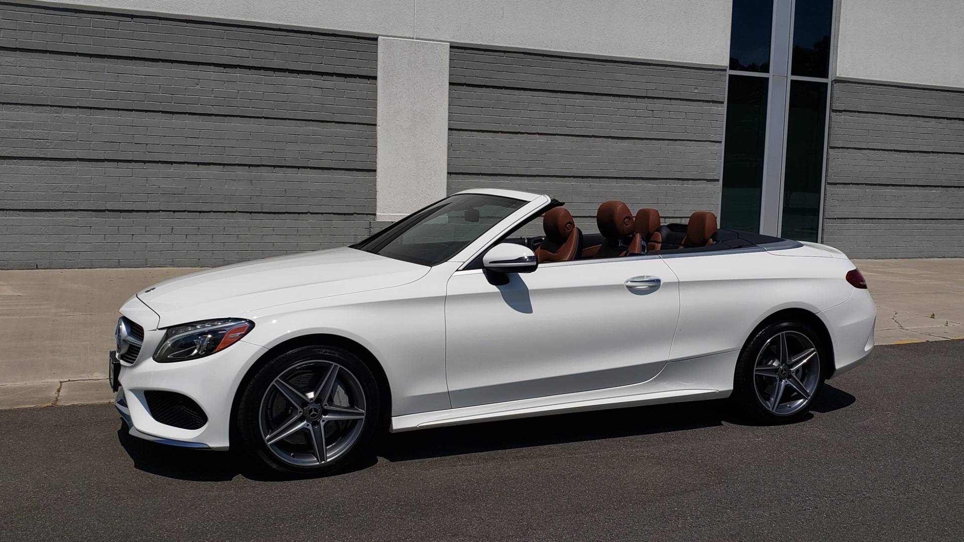 Used 2018 Mercedes-Benz C-Class C 300 for sale Sold at Formula Imports in Charlotte NC 28227 2