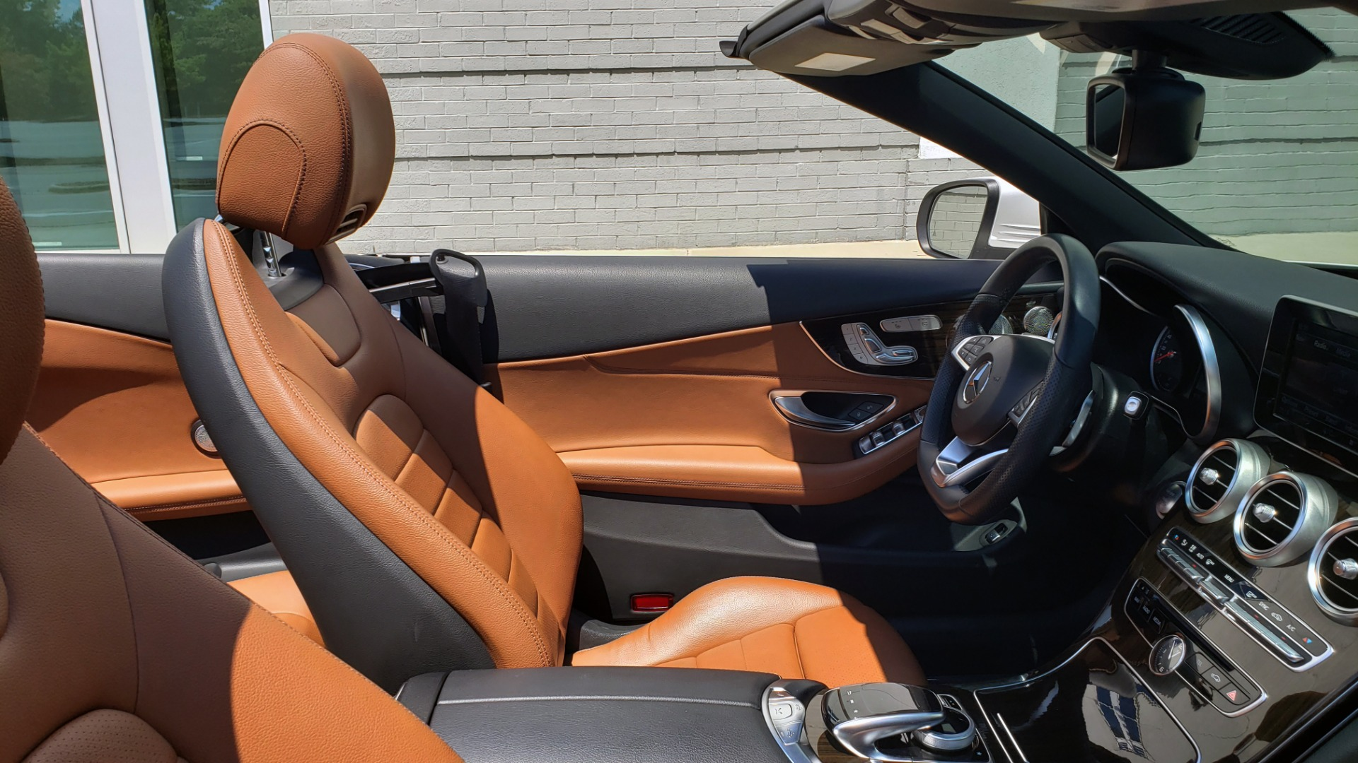 Used 2018 Mercedes-Benz C-CLASS C 300 CABRIOLET PREMIUM / AWD / BURMESTER SND / APPLE / REARVIEW for sale $44,995 at Formula Imports in Charlotte NC 28227 22