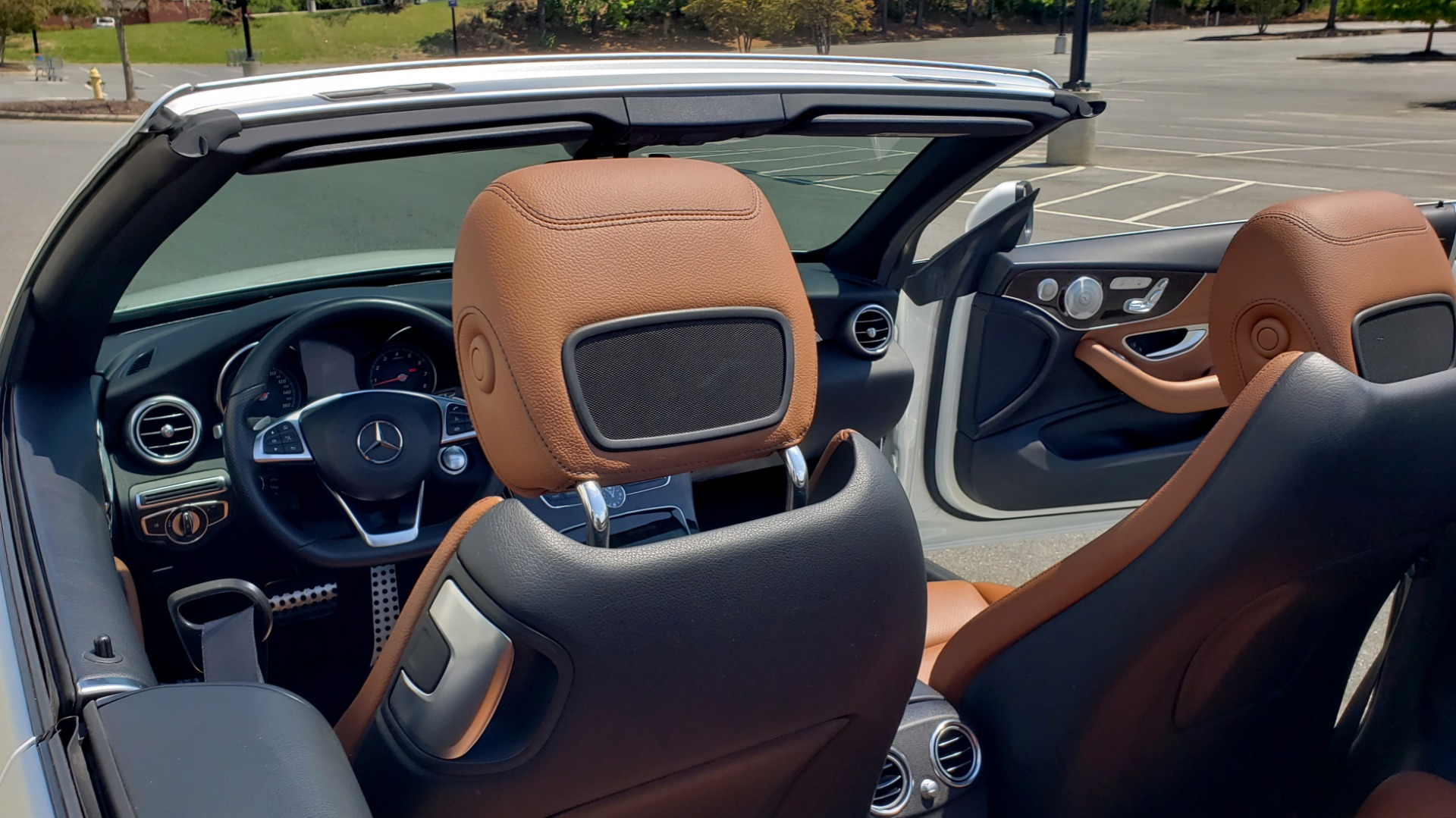 Used 2018 Mercedes-Benz C-CLASS C 300 CABRIOLET PREMIUM / AWD / BURMESTER SND / APPLE / REARVIEW for sale $44,995 at Formula Imports in Charlotte NC 28227 24