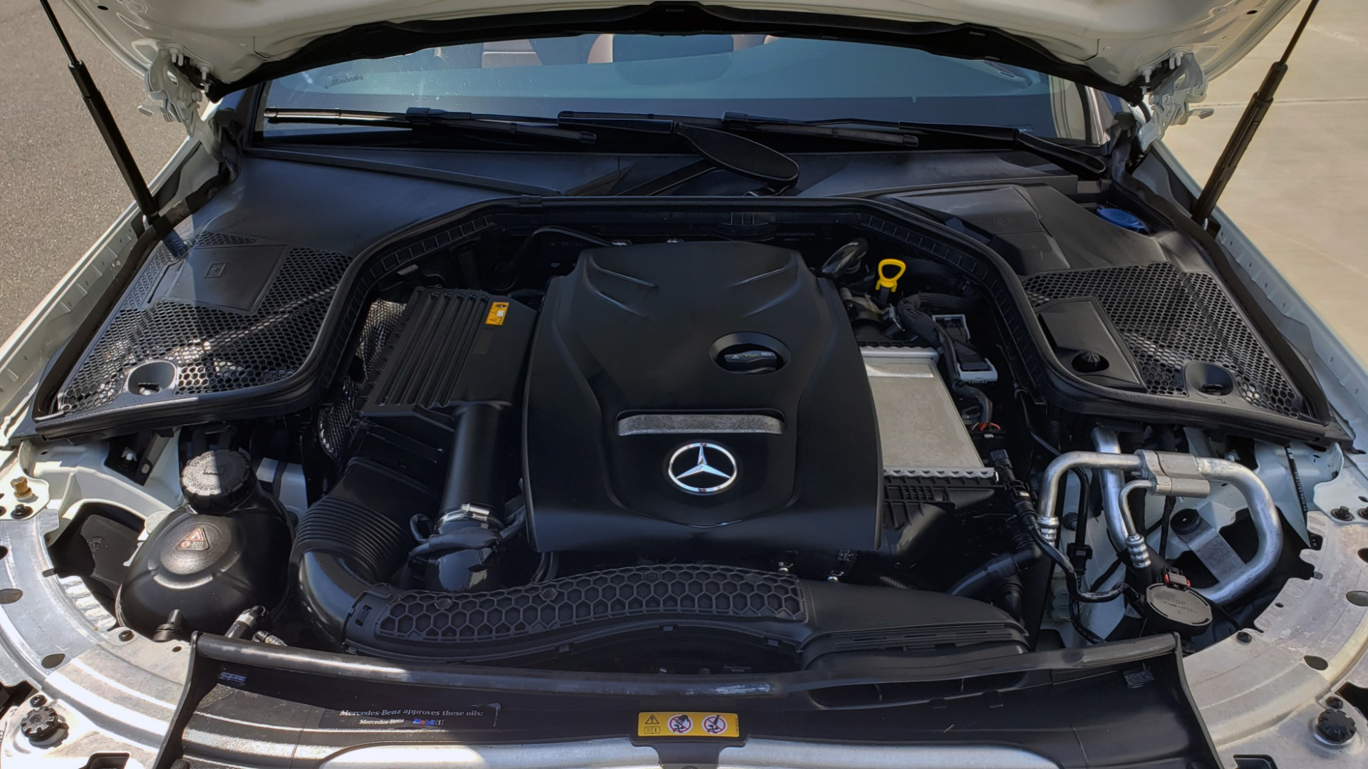 Used 2018 Mercedes-Benz C-CLASS C 300 CABRIOLET PREMIUM / AWD / BURMESTER SND / APPLE / REARVIEW for sale $44,995 at Formula Imports in Charlotte NC 28227 27