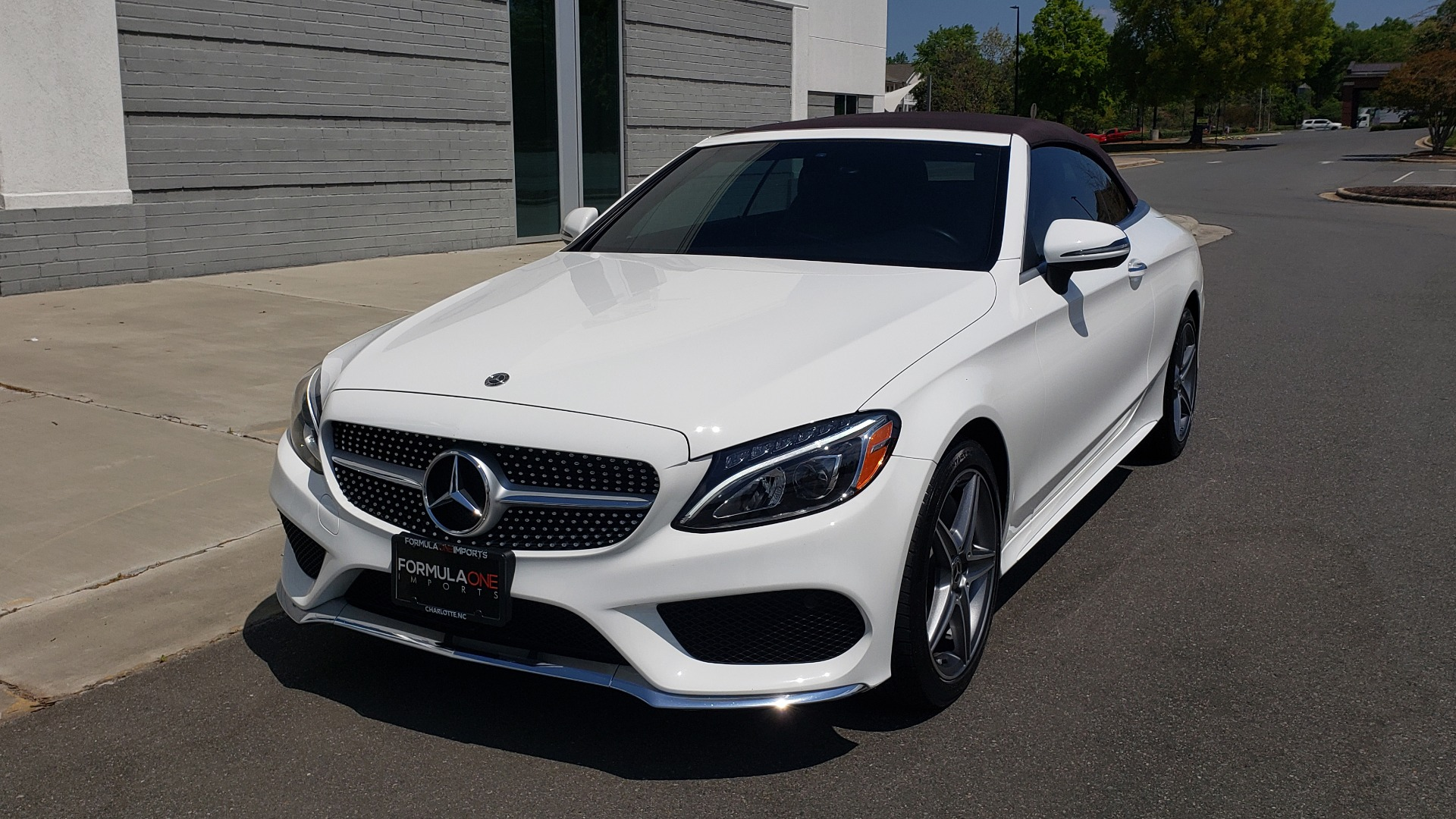 Used 2018 Mercedes-Benz C-Class C 300 for sale Sold at Formula Imports in Charlotte NC 28227 3