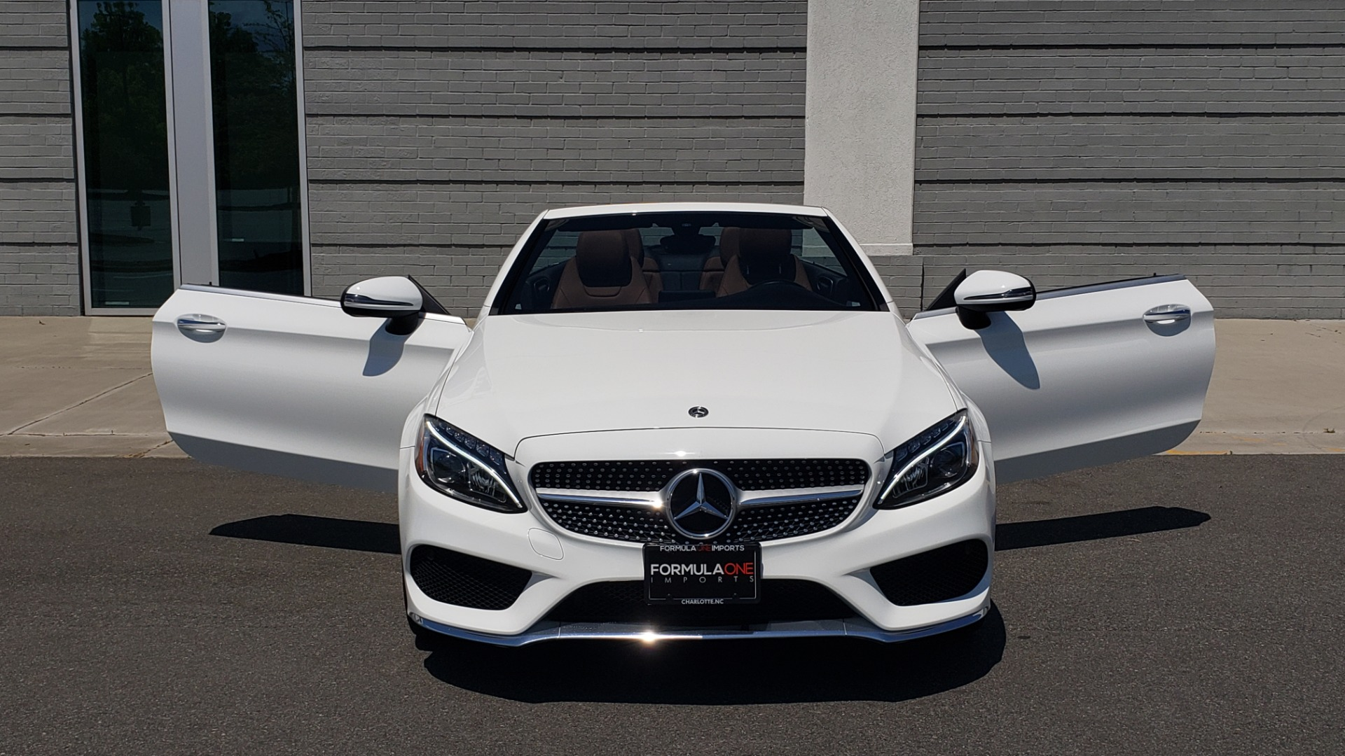 Used 2018 Mercedes-Benz C-CLASS C 300 CABRIOLET PREMIUM / AWD / BURMESTER SND / APPLE / REARVIEW for sale $44,995 at Formula Imports in Charlotte NC 28227 36