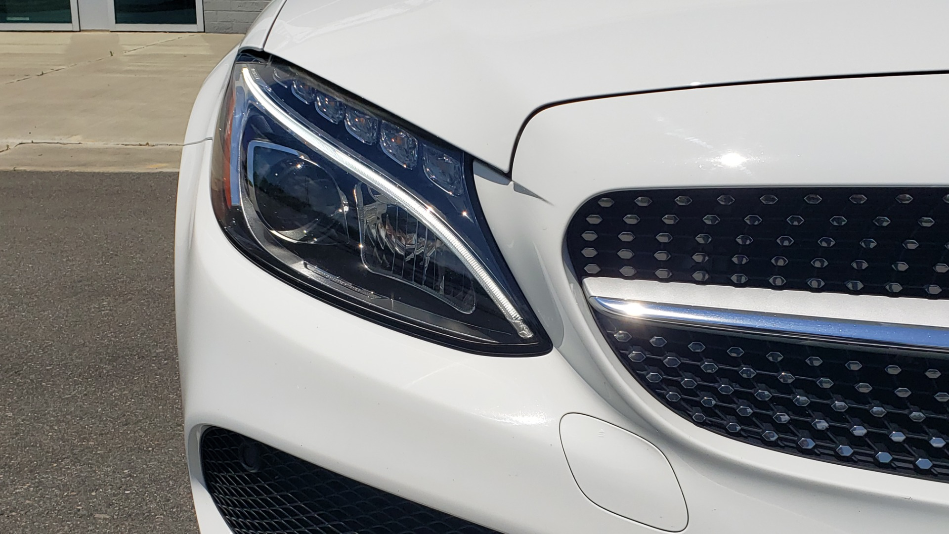 Used 2018 Mercedes-Benz C-CLASS C 300 CABRIOLET PREMIUM / AWD / BURMESTER SND / APPLE / REARVIEW for sale $44,995 at Formula Imports in Charlotte NC 28227 37