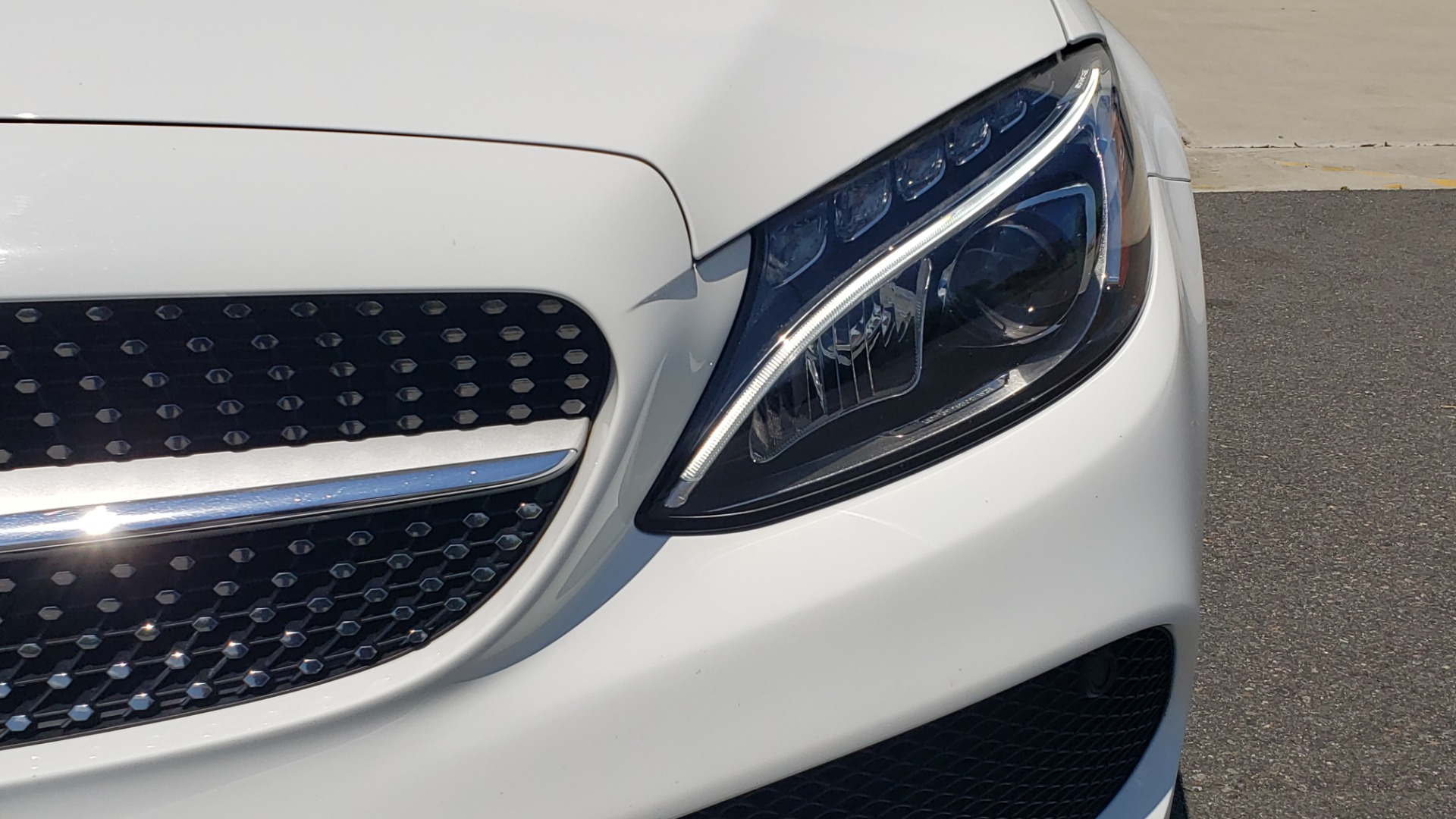 Used 2018 Mercedes-Benz C-CLASS C 300 CABRIOLET PREMIUM / AWD / BURMESTER SND / APPLE / REARVIEW for sale $44,995 at Formula Imports in Charlotte NC 28227 38