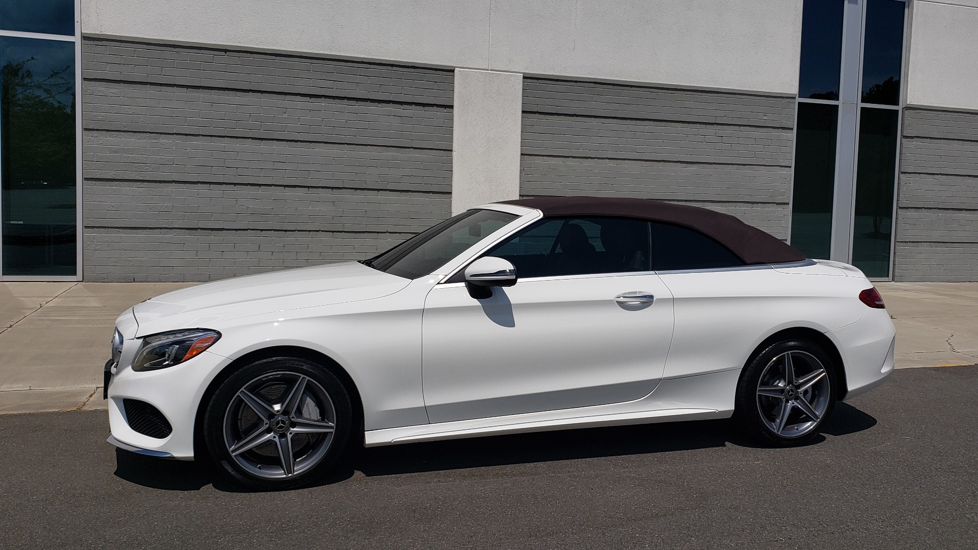 Used 2018 Mercedes-Benz C-CLASS C 300 CABRIOLET PREMIUM / AWD / BURMESTER SND / APPLE / REARVIEW for sale $44,995 at Formula Imports in Charlotte NC 28227 4