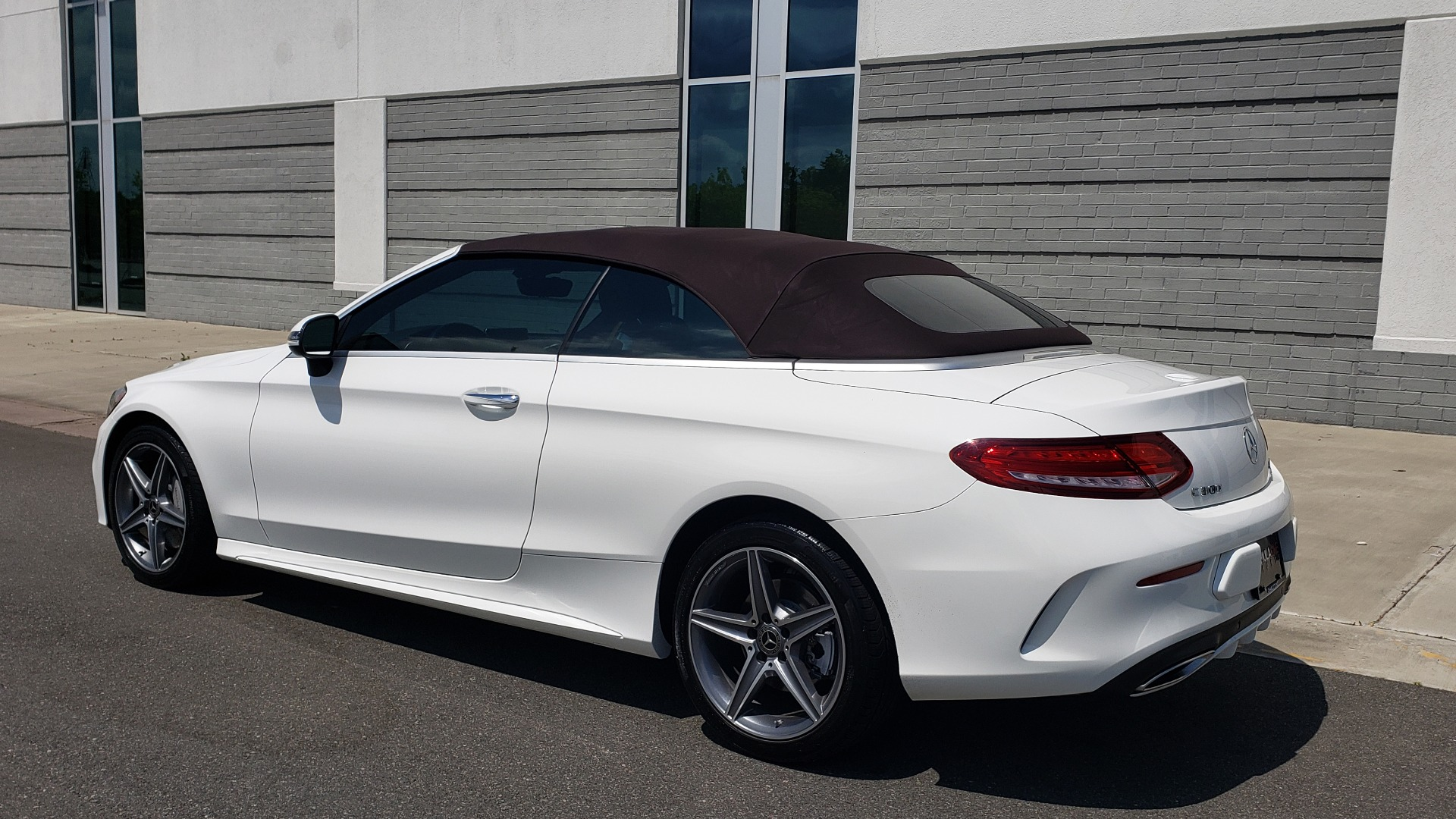 Used 2018 Mercedes-Benz C-CLASS C 300 CABRIOLET PREMIUM / AWD / BURMESTER SND / APPLE / REARVIEW for sale $44,995 at Formula Imports in Charlotte NC 28227 5